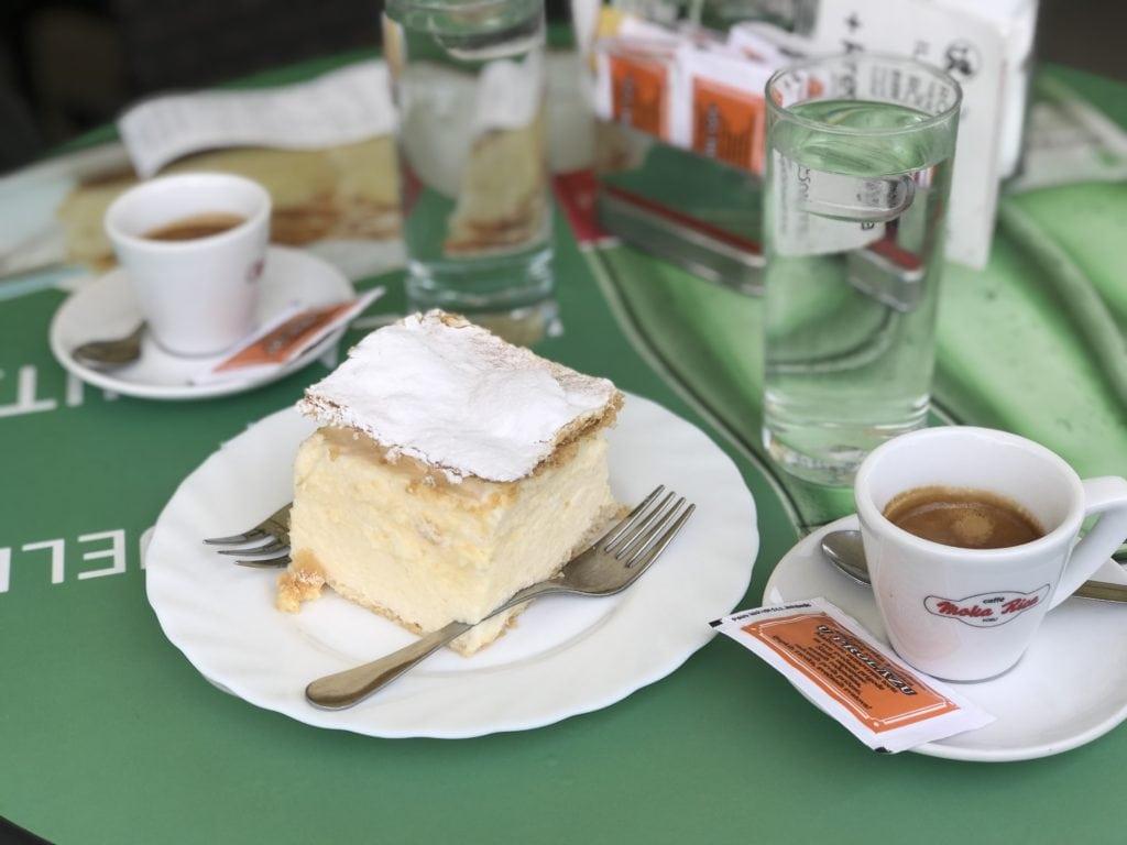 Samobor cream pastry