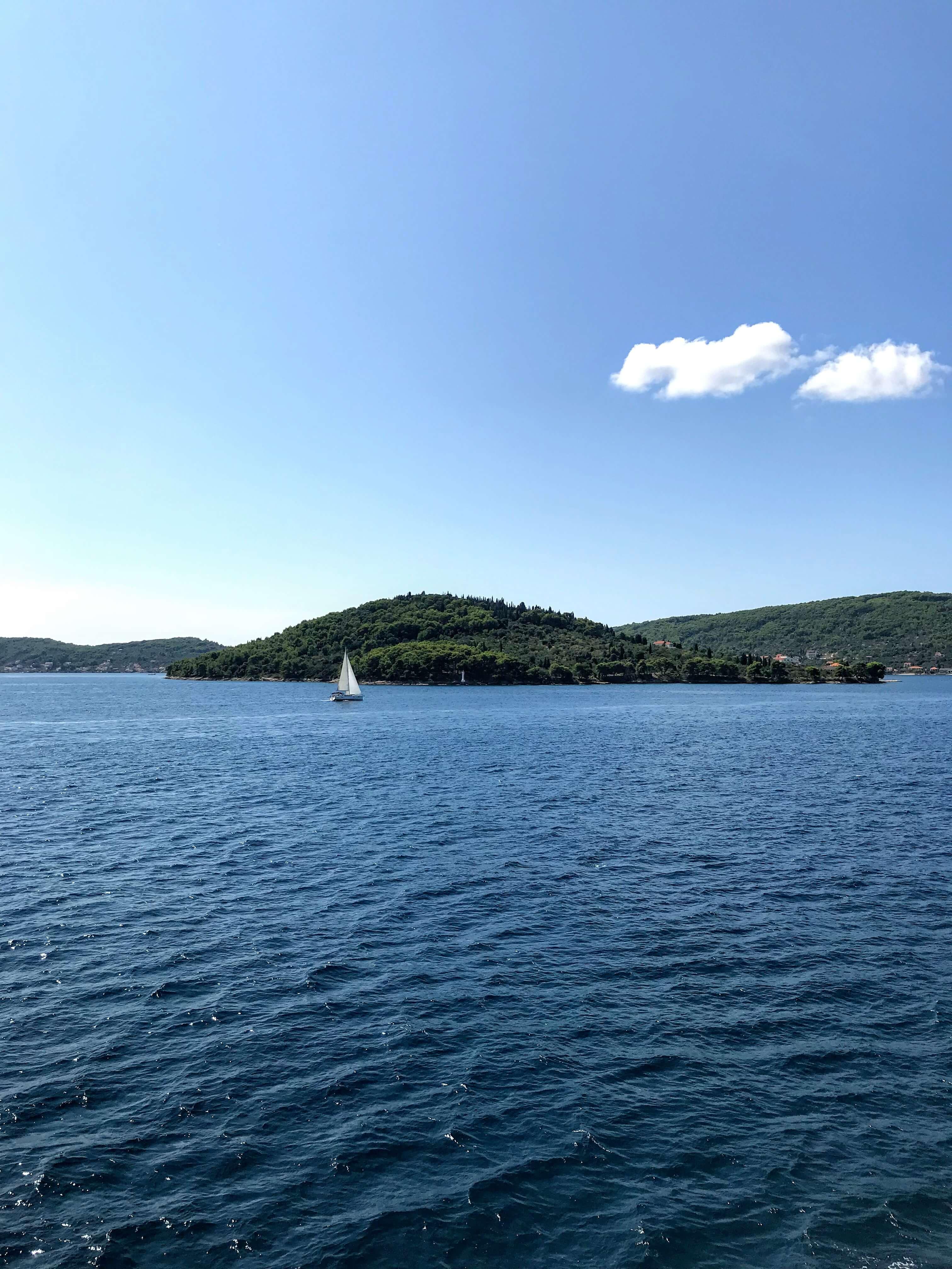 ferry from Zadar to Ugljan Island