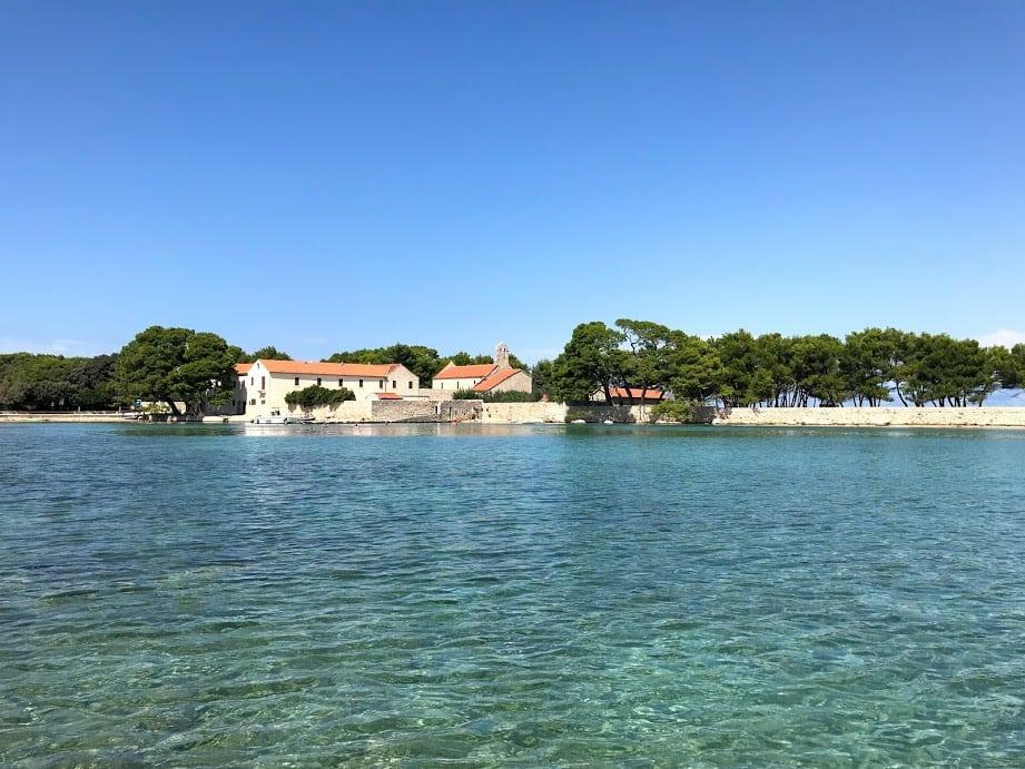 Ugljan Island off the coast of Zadar