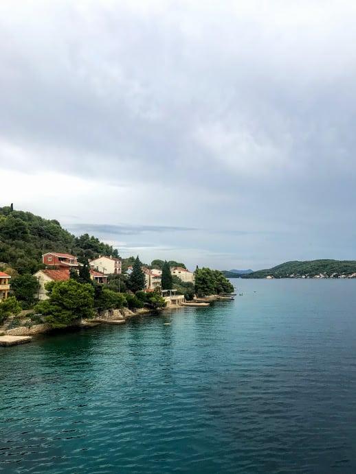 ferry from Ugljan Island to Zadar