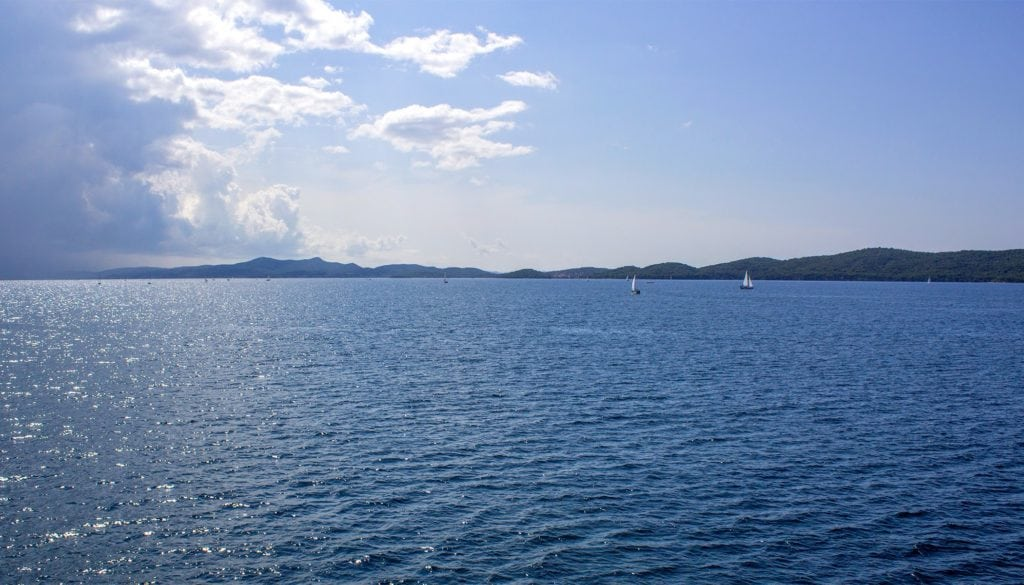 ferry from Zadar to Preko