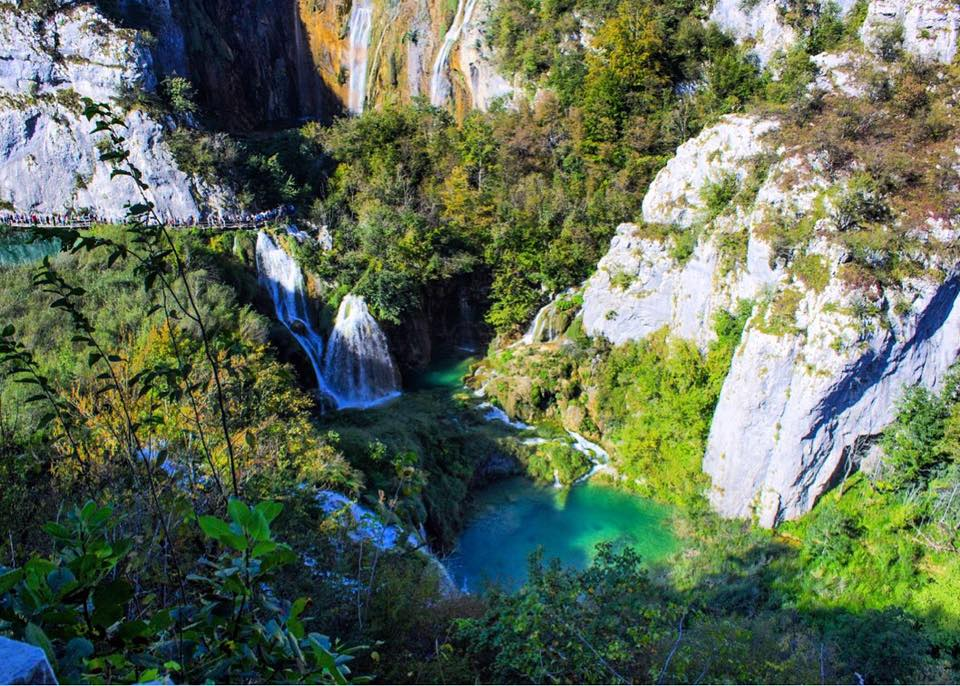 day trip to Plitvice Lakes from Zagreb
