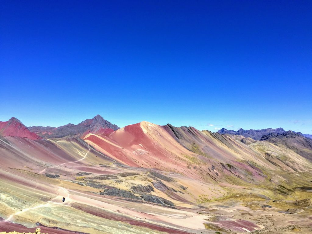 rainbow mountain in Cusco, Peru