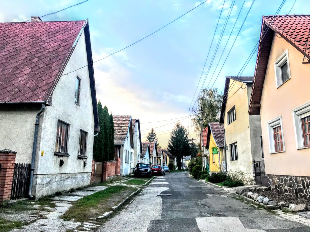town of Zabegeny, Hungary