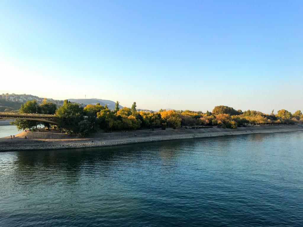 Margaret Island park in Budapest