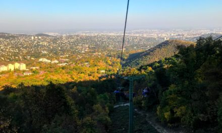How to Take the Janos Hill Chairlift to Elizabeth Lookout Tower