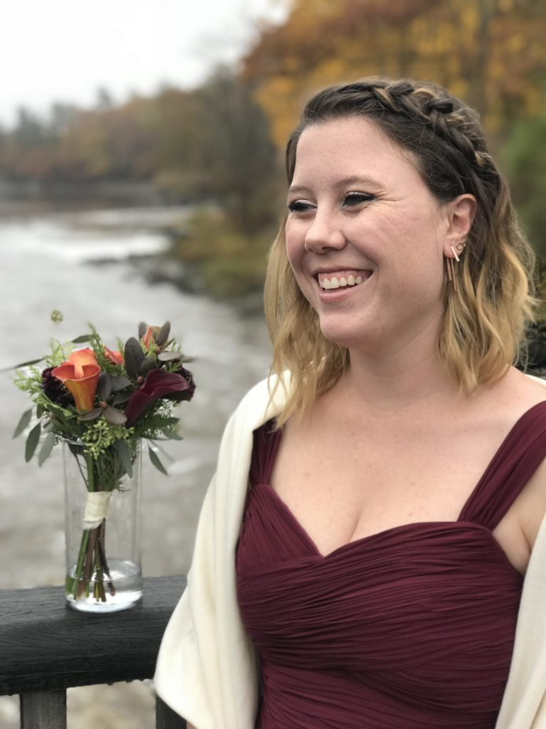 autumn bridesmaid ensemble