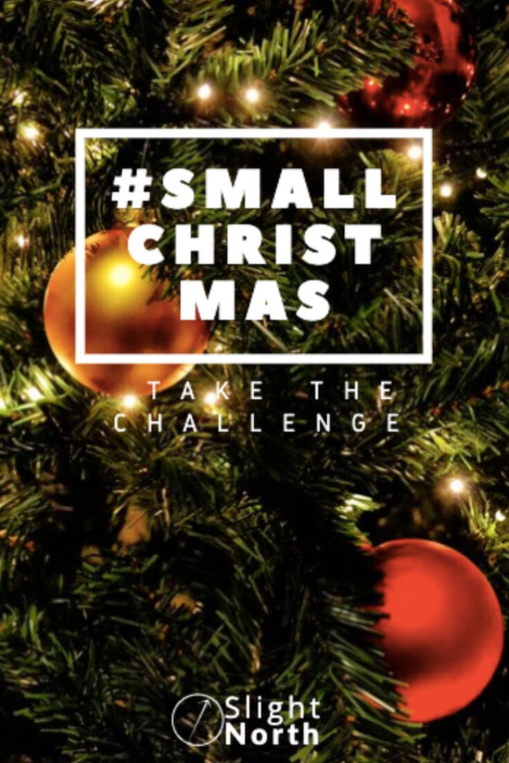 Small Christmas Challenge Pinterest pin