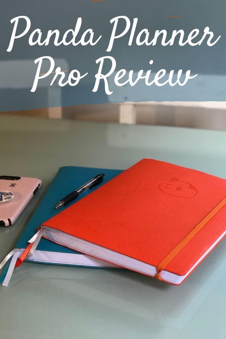 Panda Planner Pro Review Pinterest pin