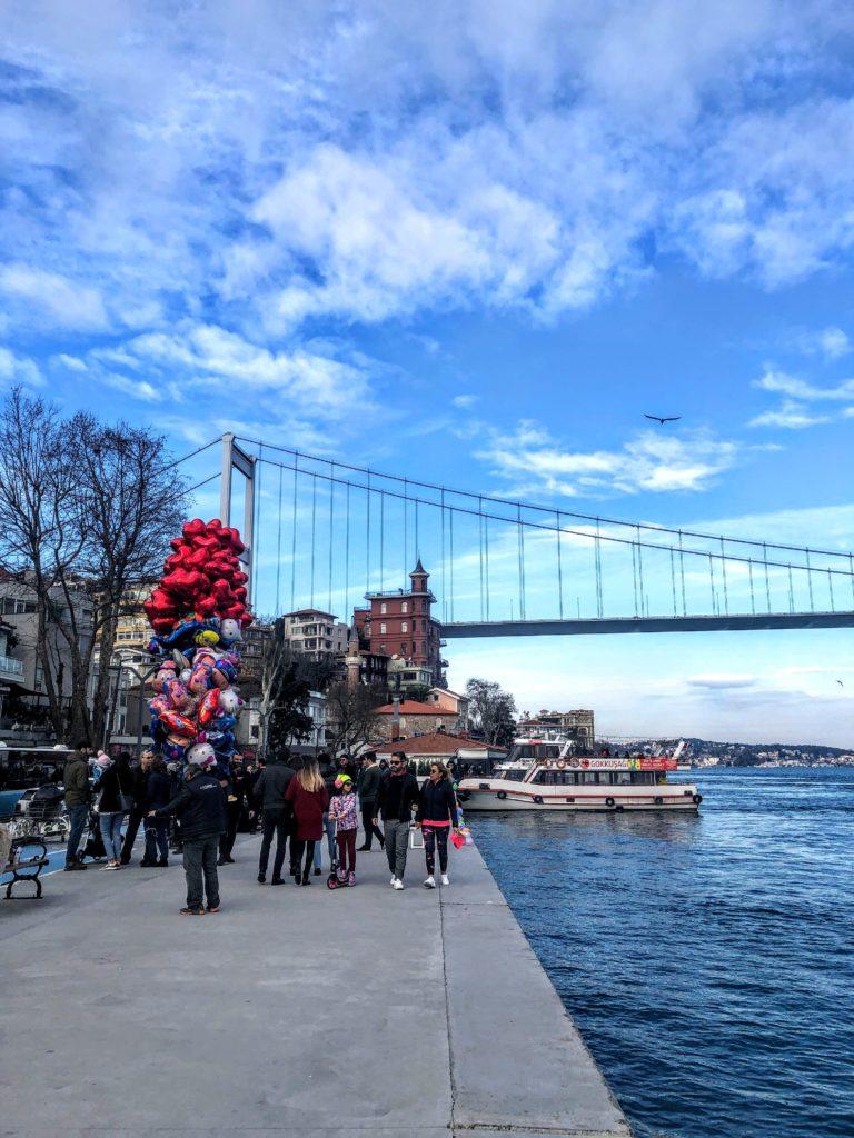 waterfront in the Bebek neighborhood, istanbul