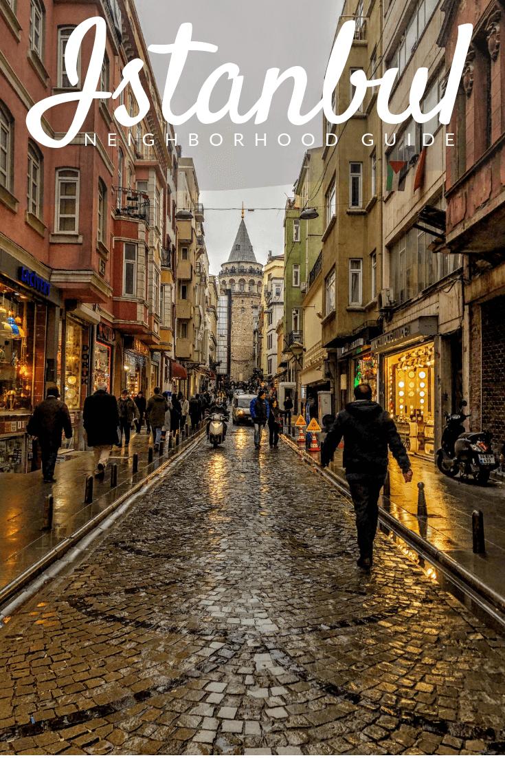 Best Istanbul Neighborhoods Pinterest pin