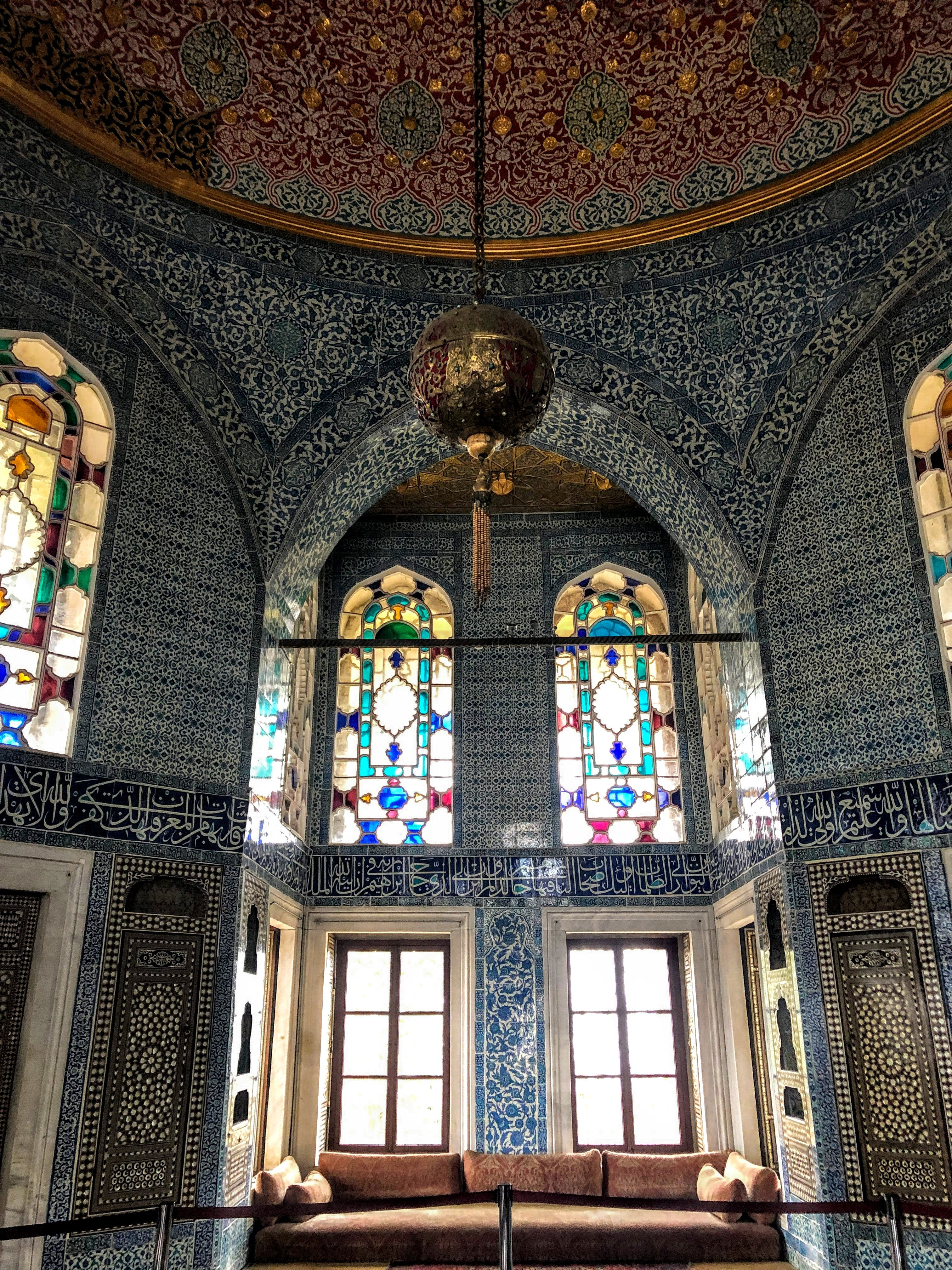 inside Topkapi Palace in Istanbul