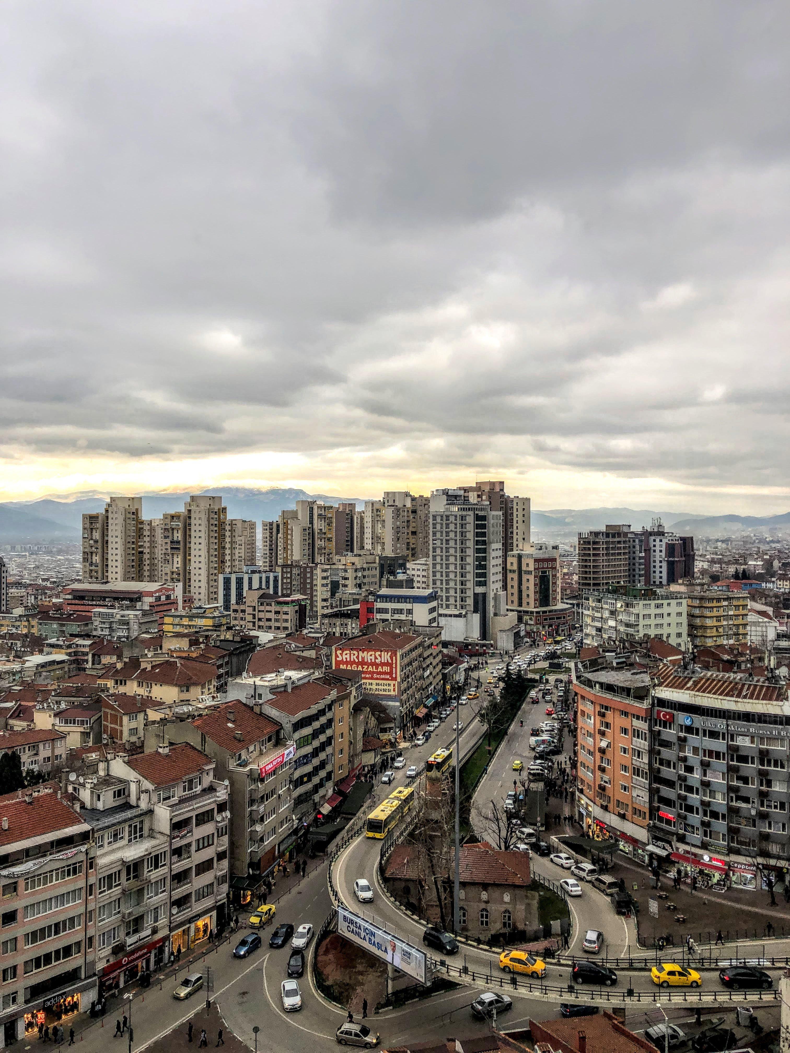 Bursa skyline