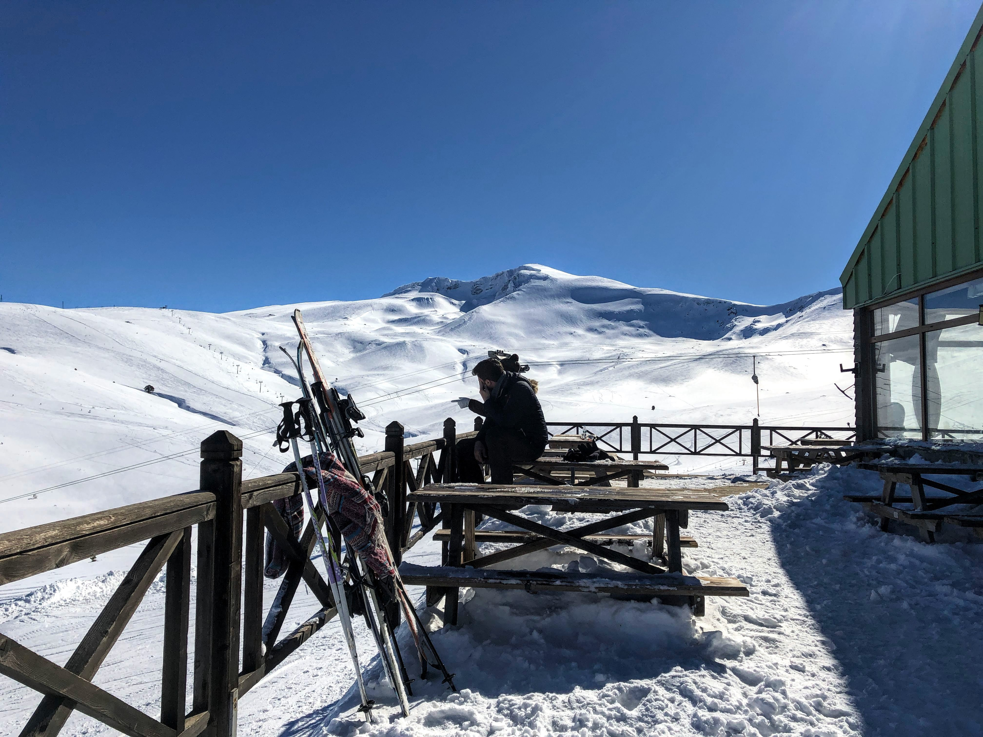Ski lodge at Uludag National Park