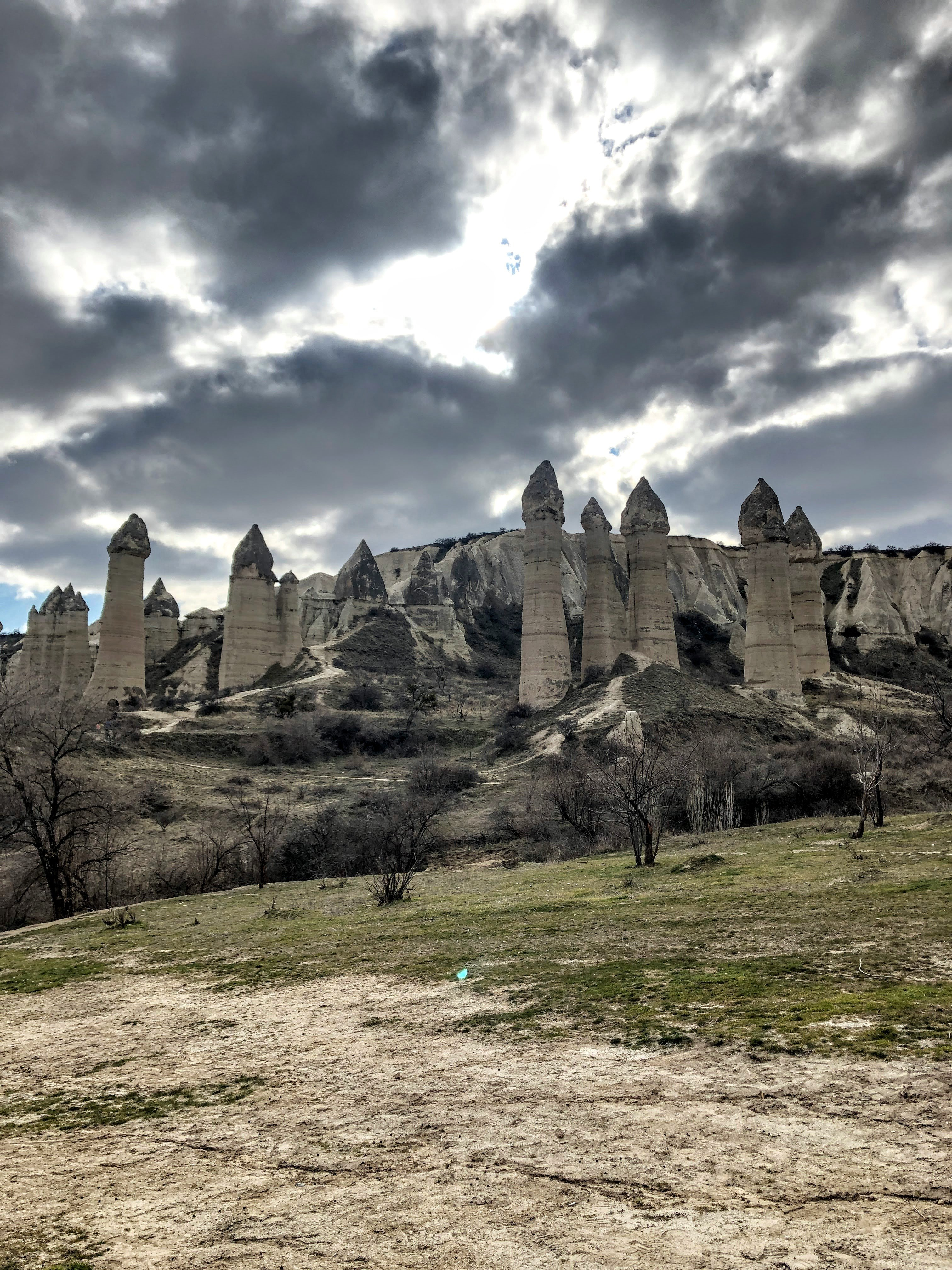 phallic rocks in Love Valley, Cappadocia