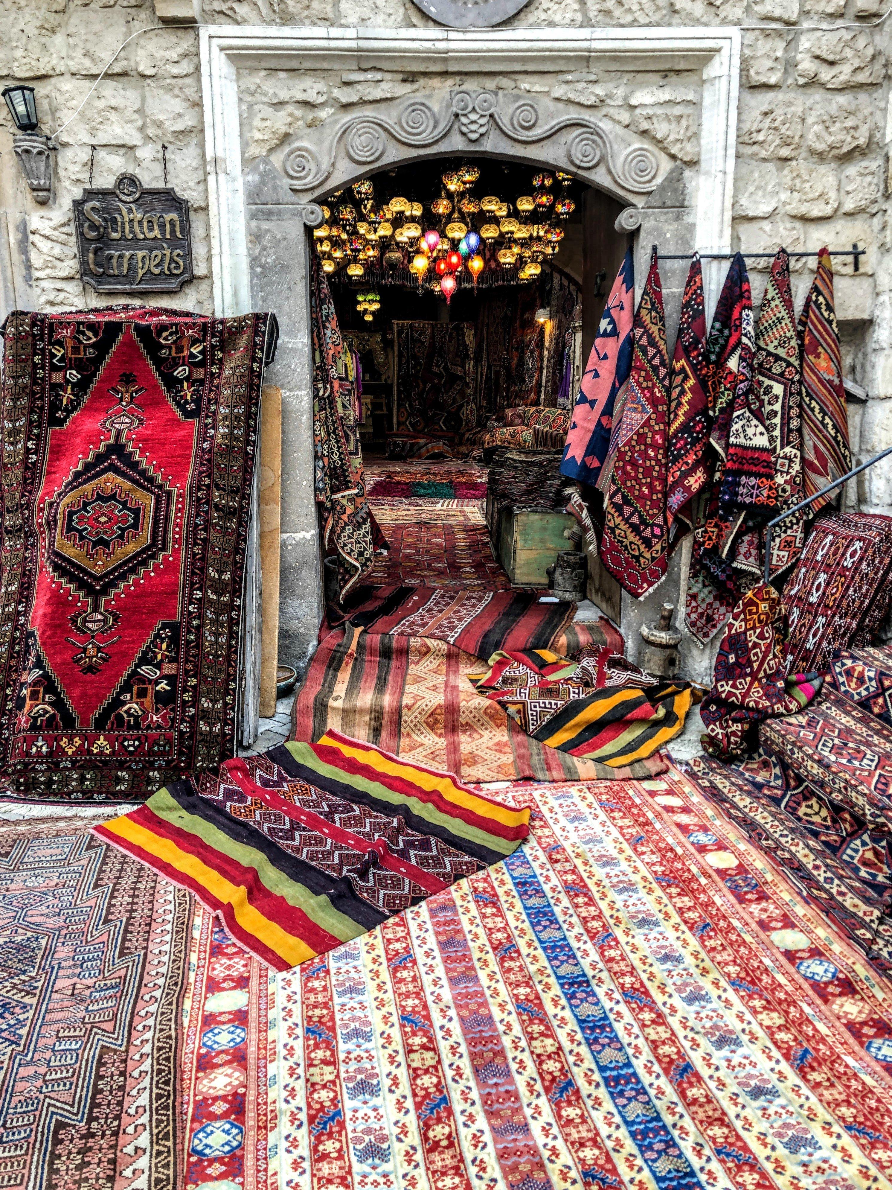 cozy shop in Cappadocia