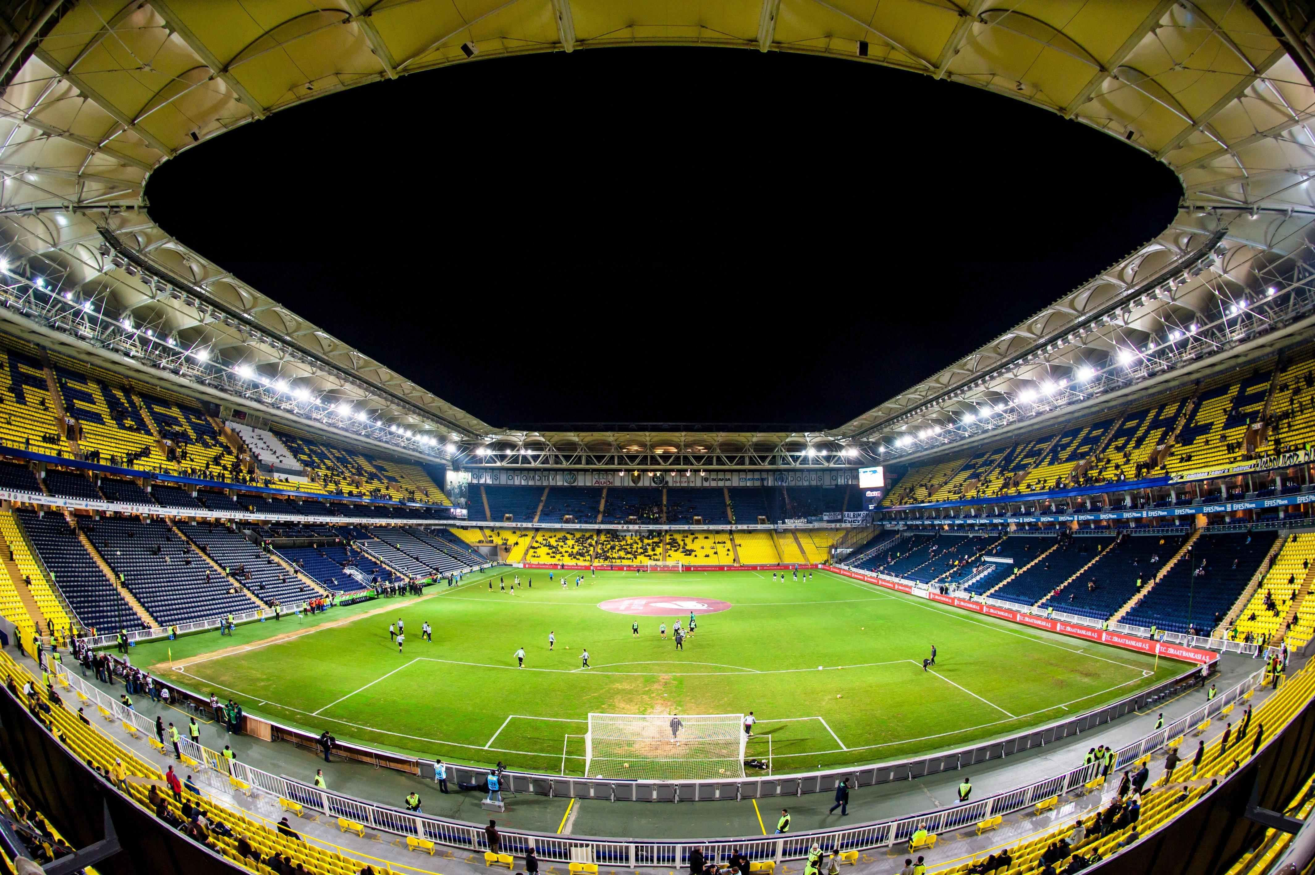 soccer stadium in Istanbul