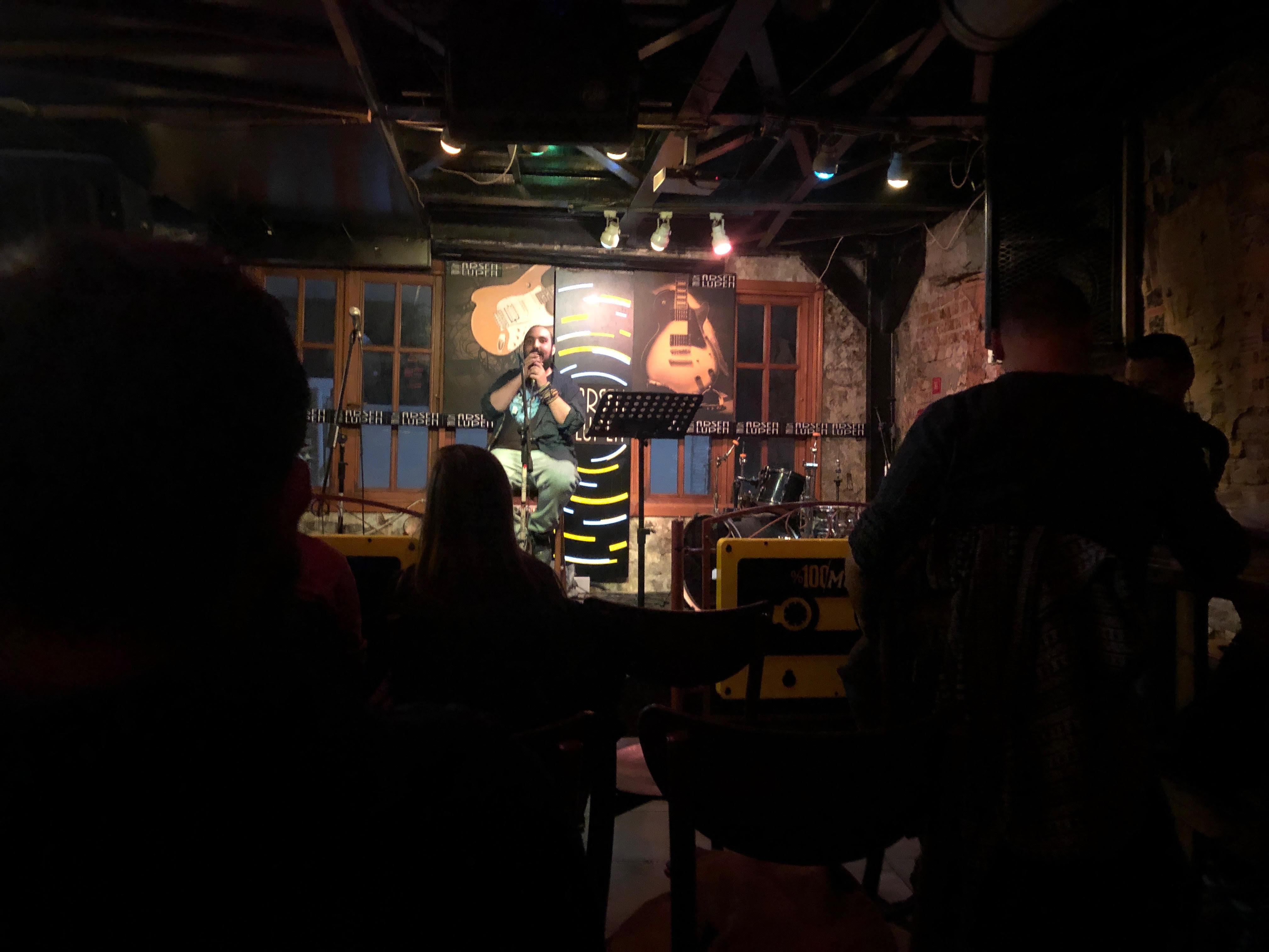 open mic night in Istanbul