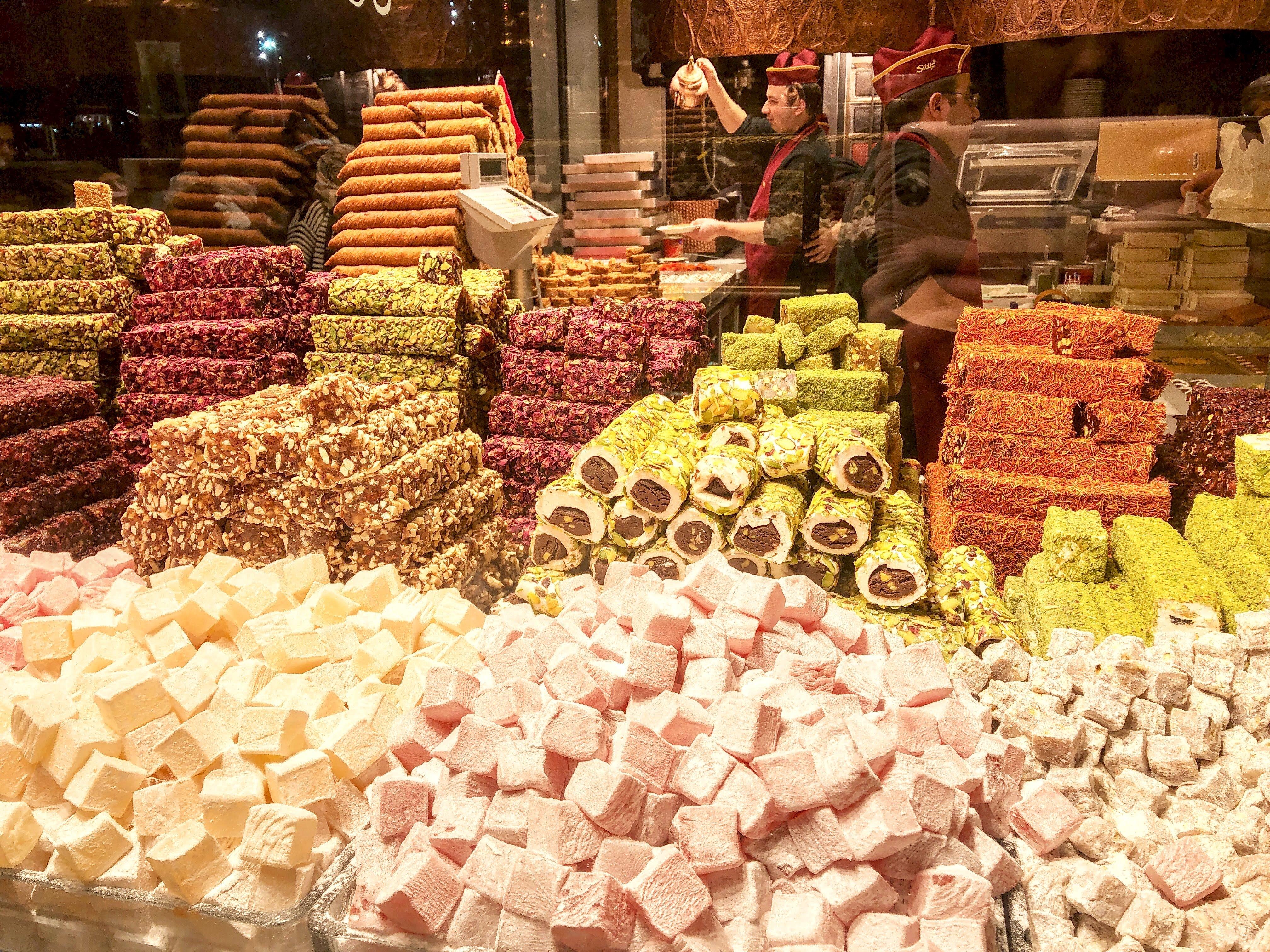 turkish delight in Istanbu