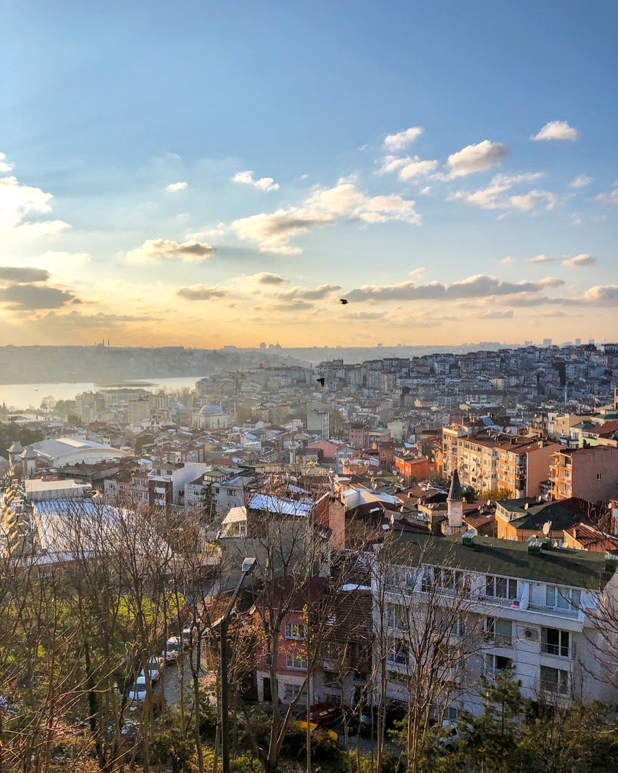 Istanbul city viewpoint