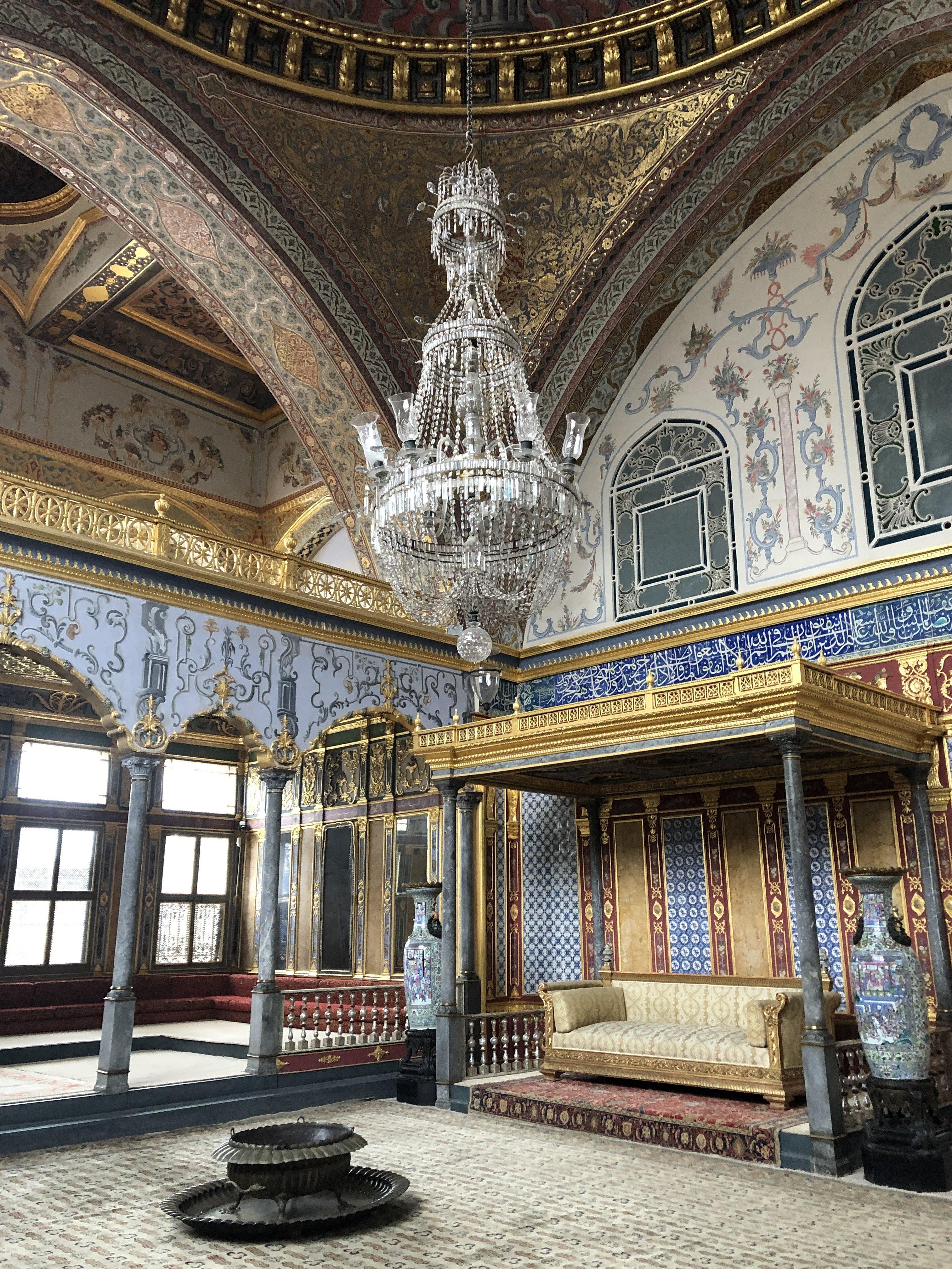Harem at Topkapi Palace in Istanbul