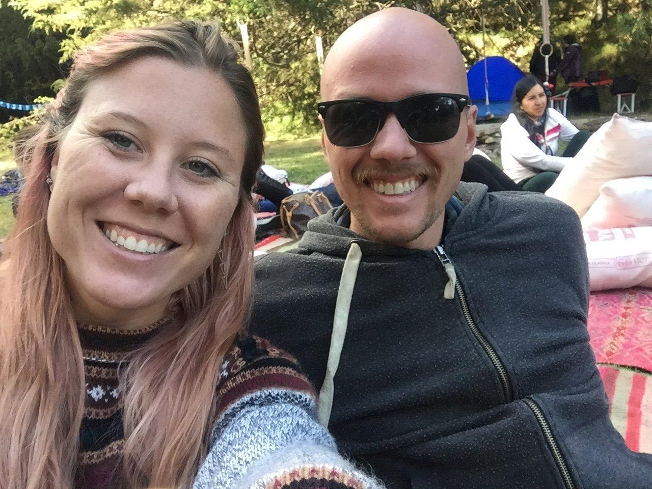 Dan and Di in Peru