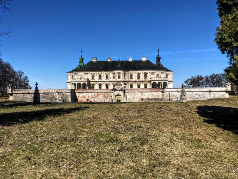 Pidgirtsi Castle near Lviv, Ukraine