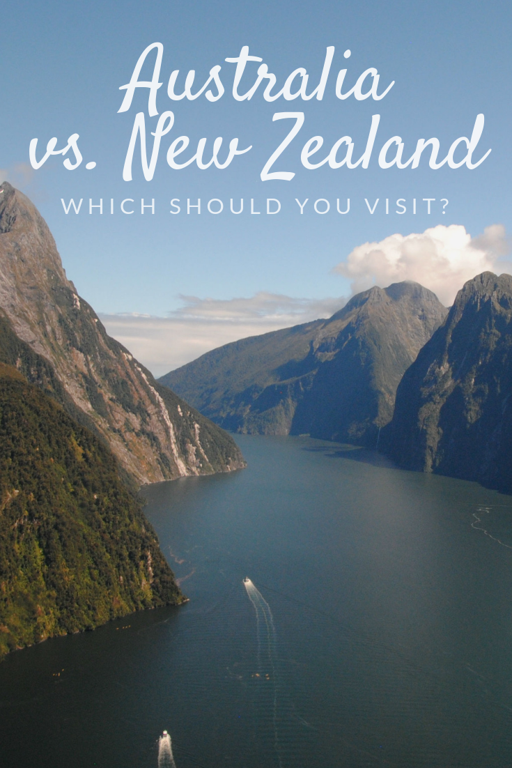 Australia vs. New Zealand Pinterest pin