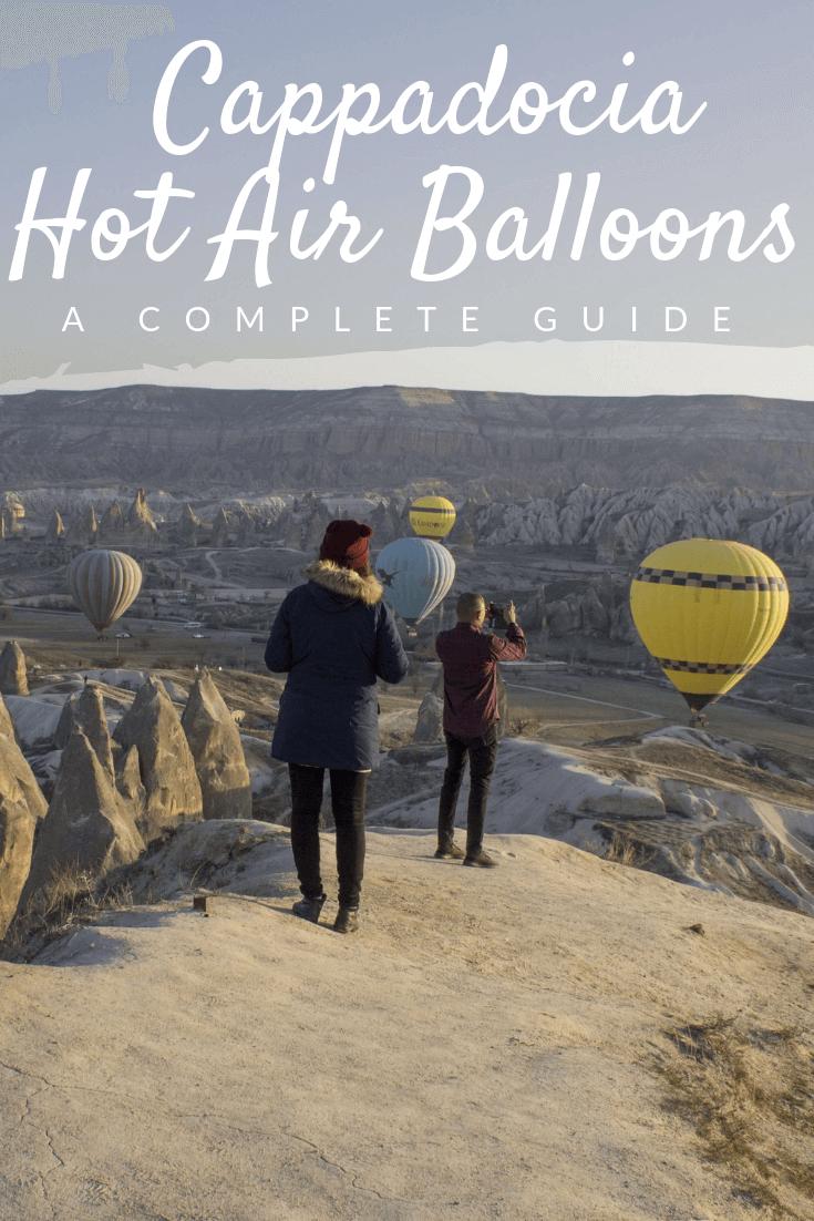 2019 Cappadocia Hot Air Balloon Pinterest pin