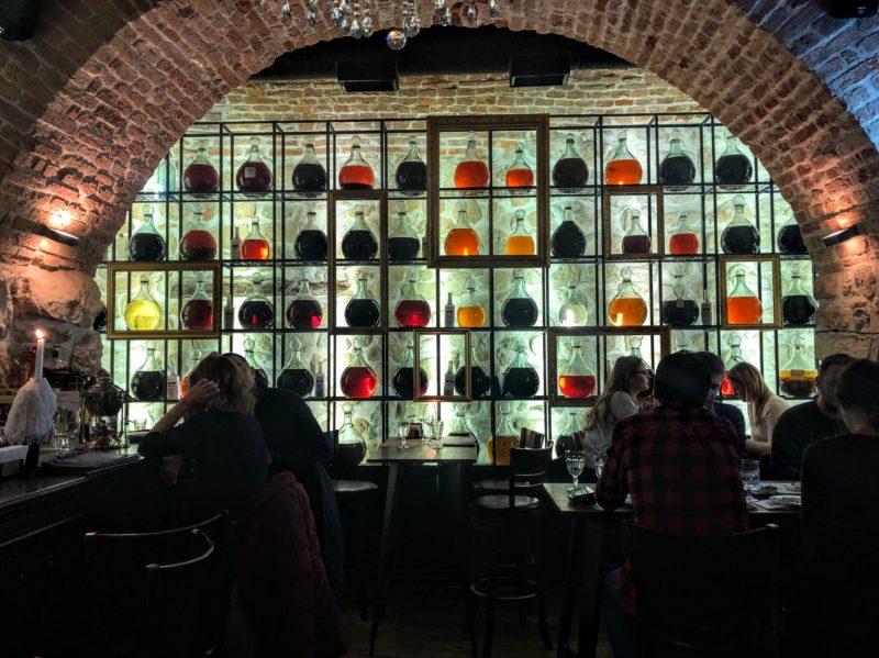 Baczewski restaurant in Lviv