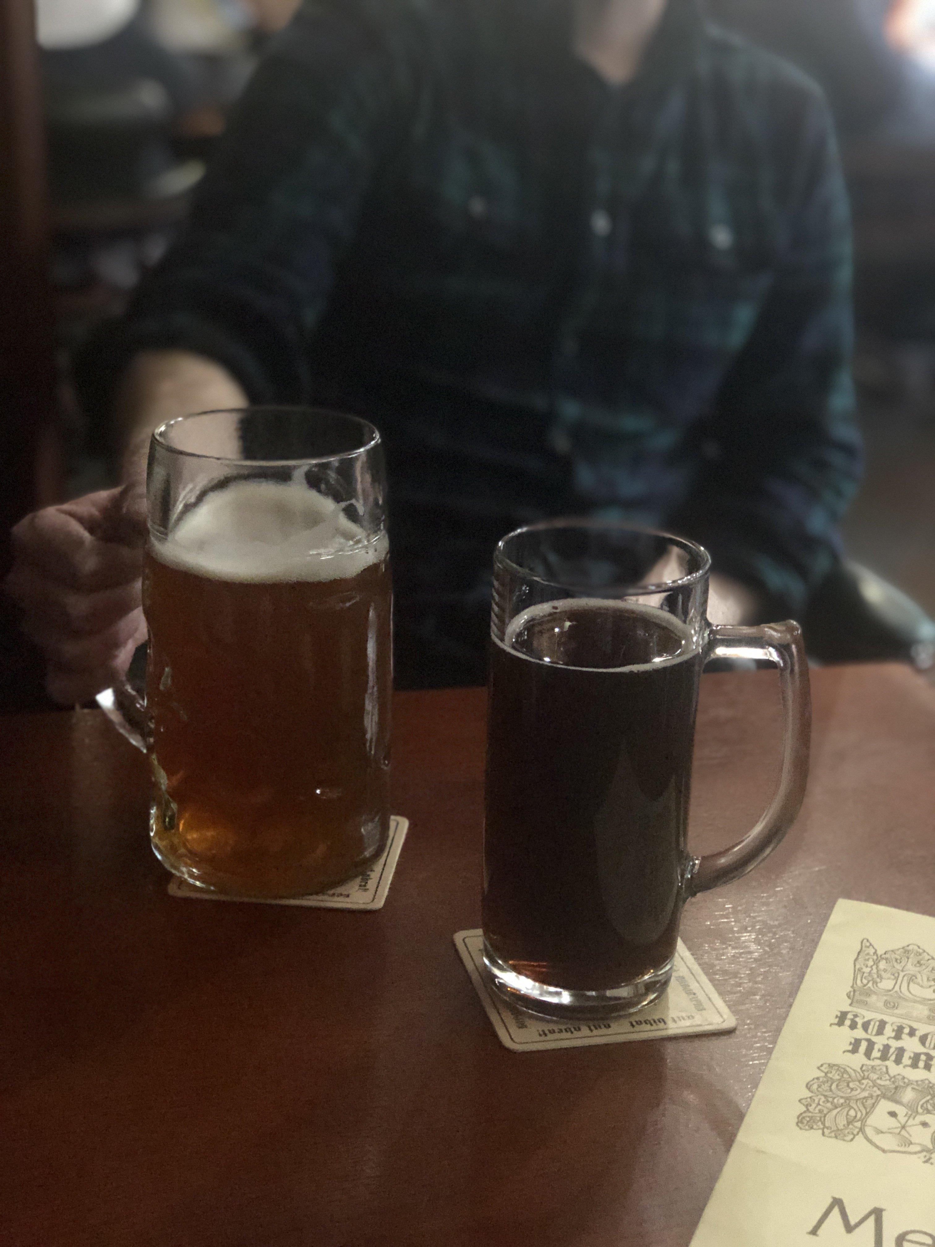 liter beers at Royal Brewery in Lviv