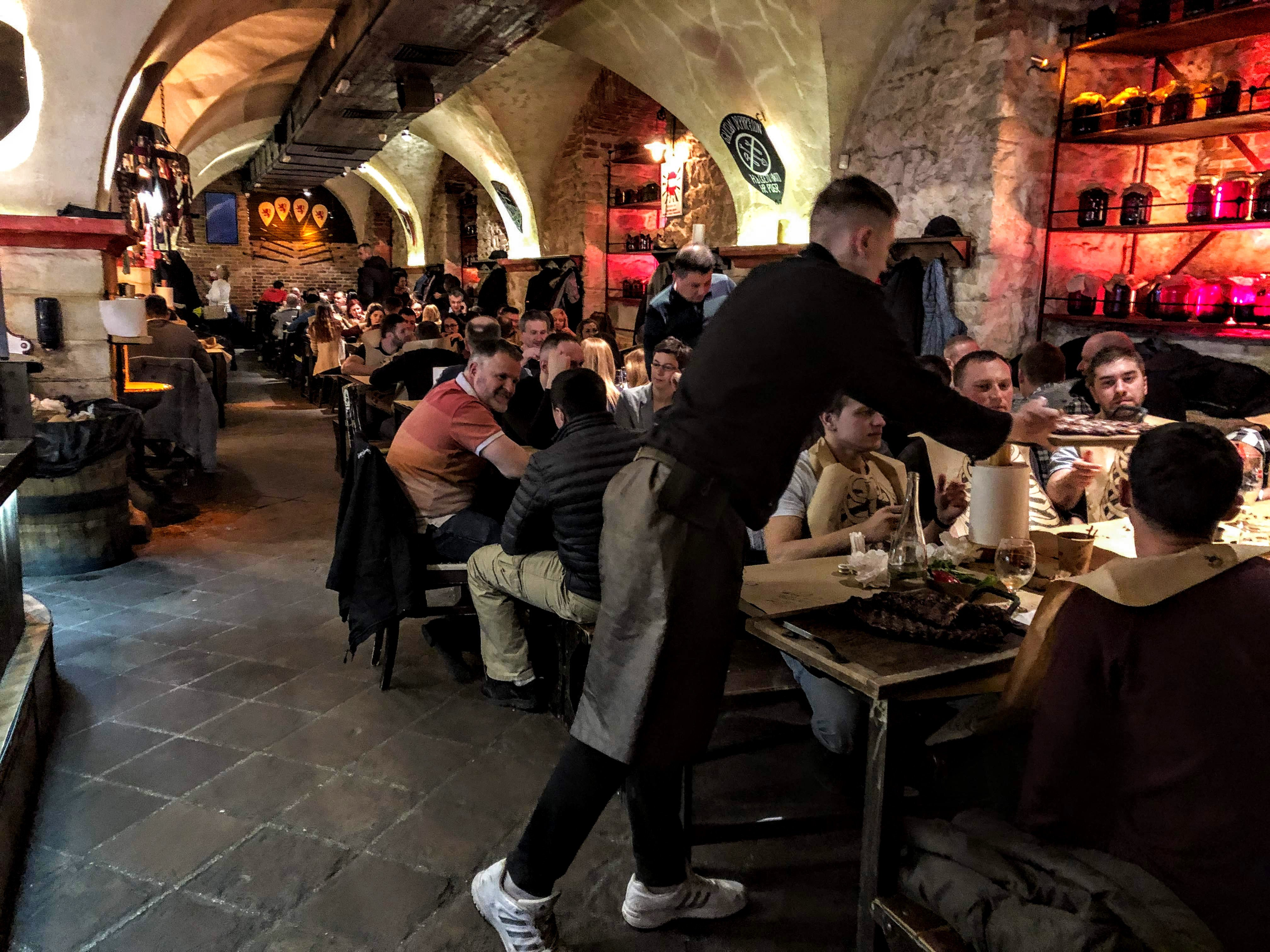 Arsenal Ribs restaurant in Lviv