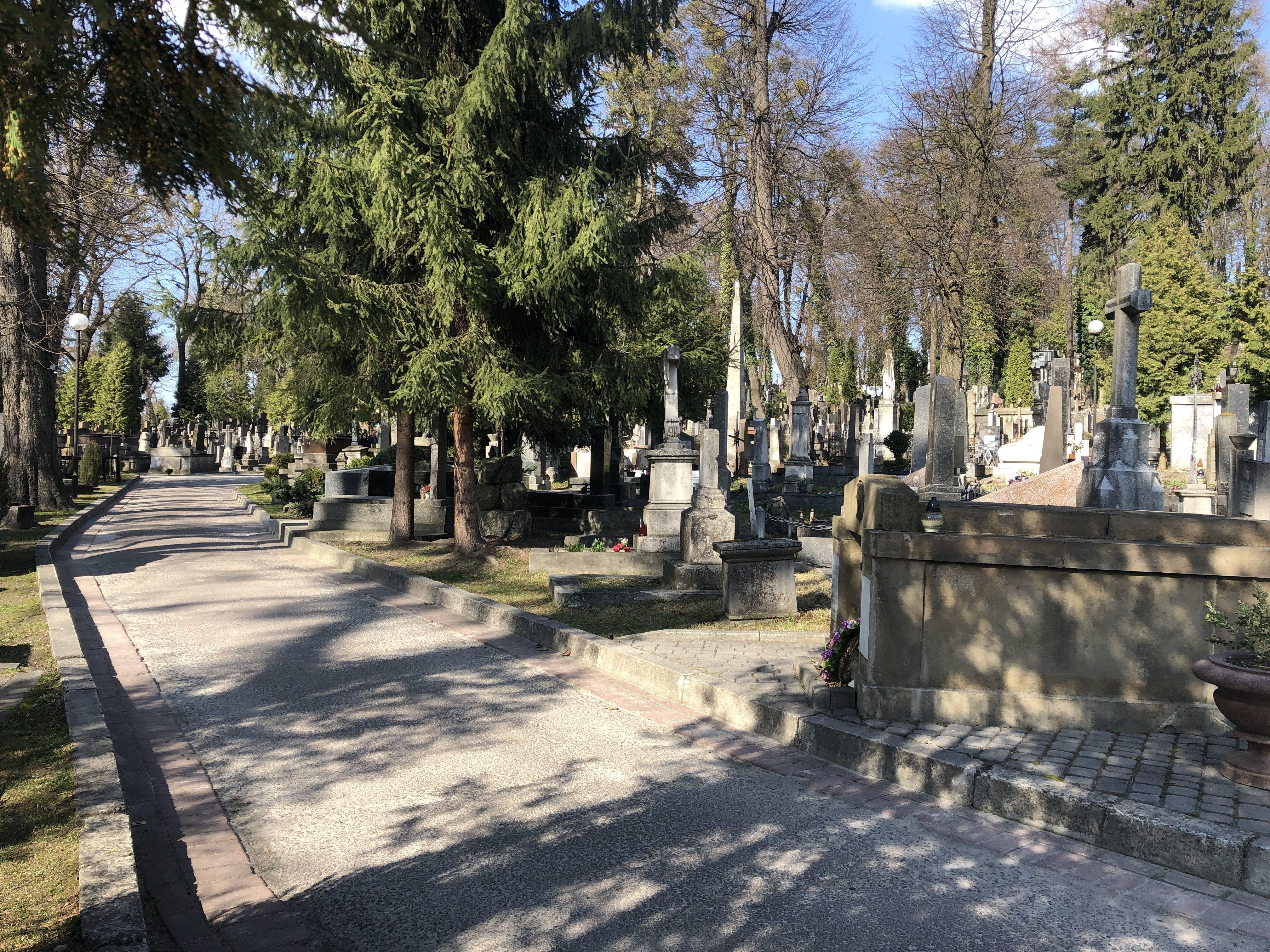 Lychakiv Cemetery in Lviv