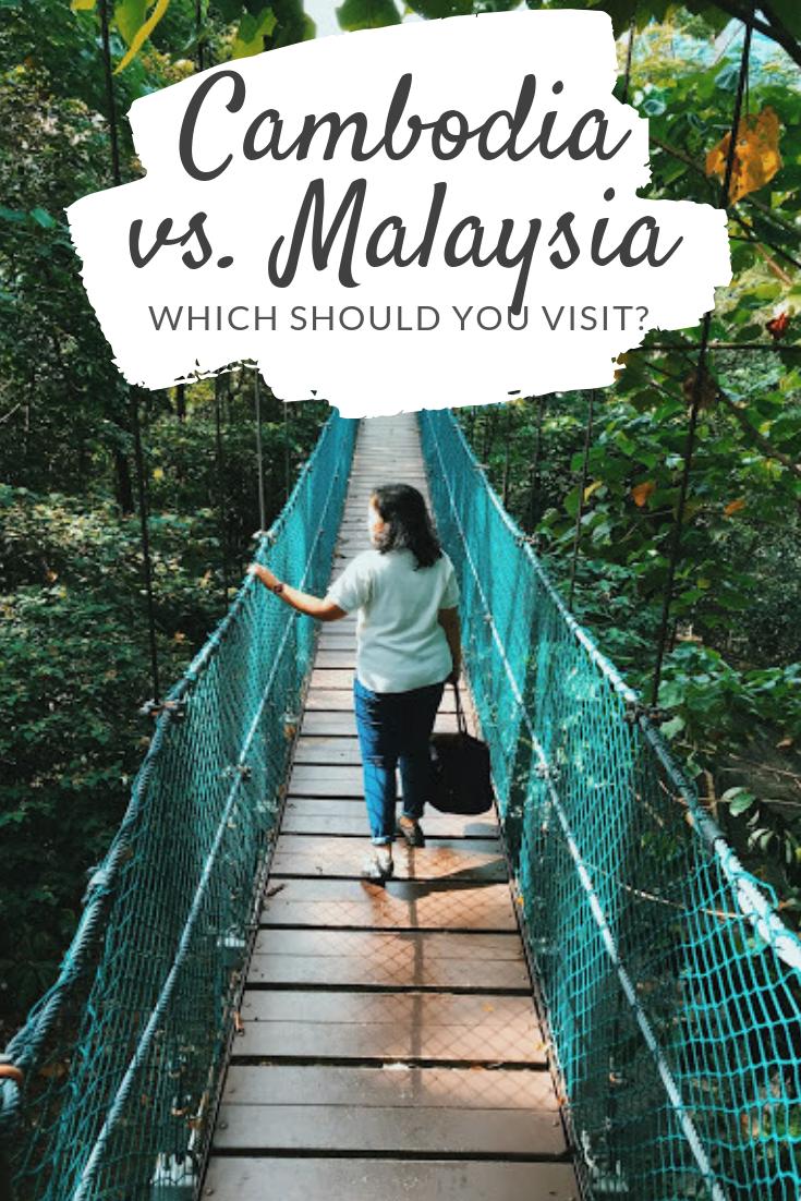 Cambodia vs. Malaysia Pinterest pin