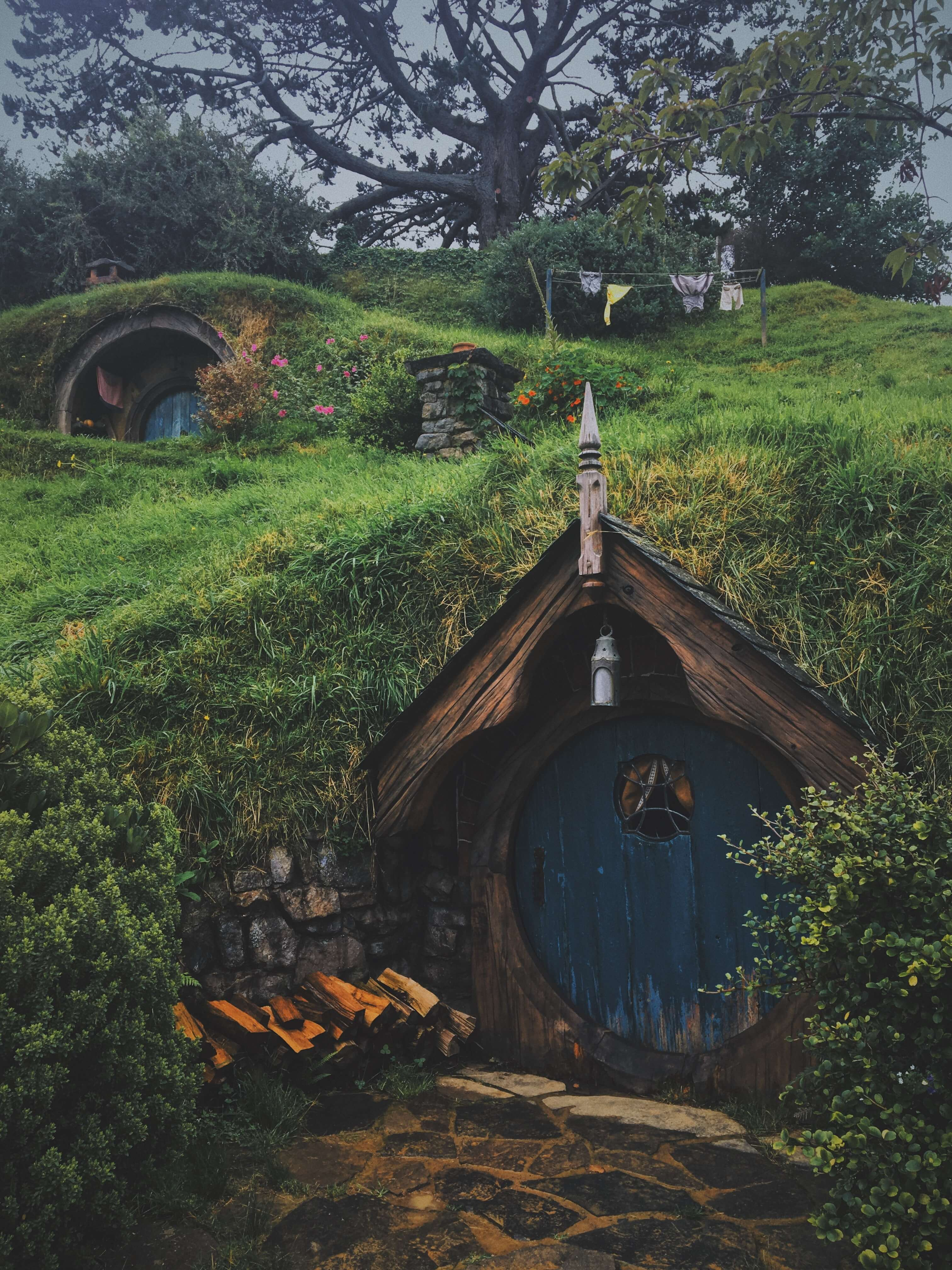 hobbit sets in New Zealand