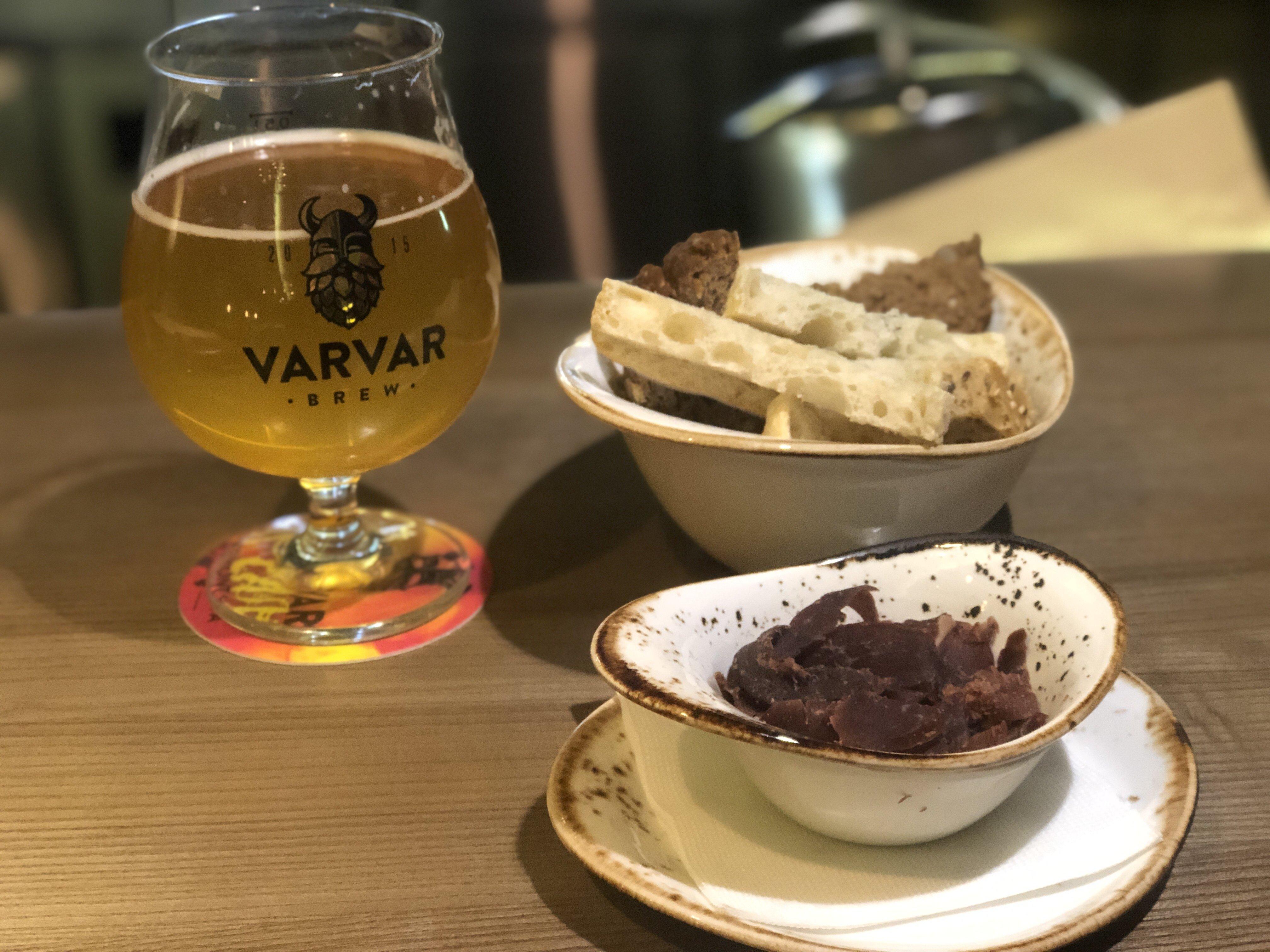 Varvar Ukrainian beer