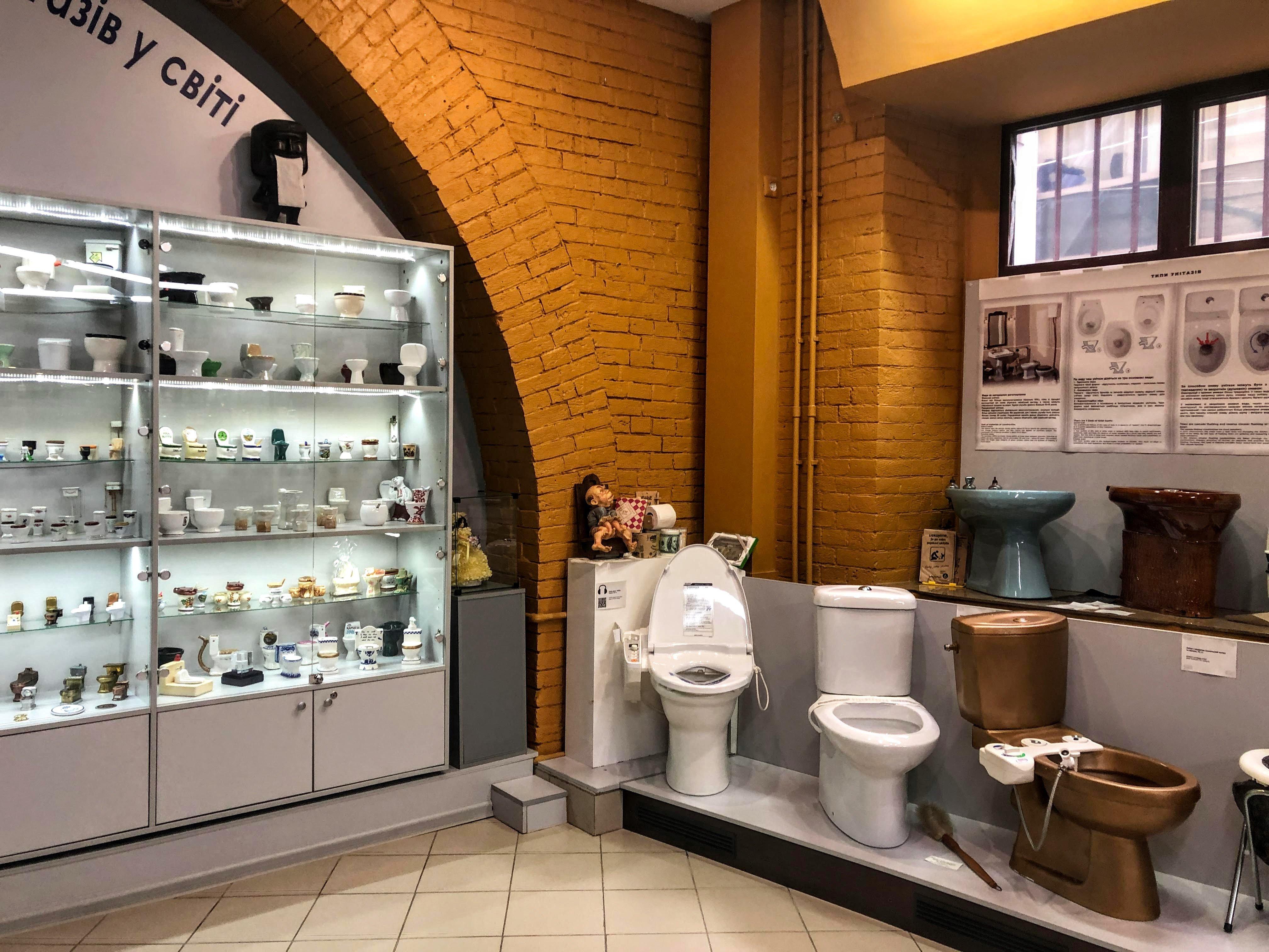 Toilet History Museum in Kiev
