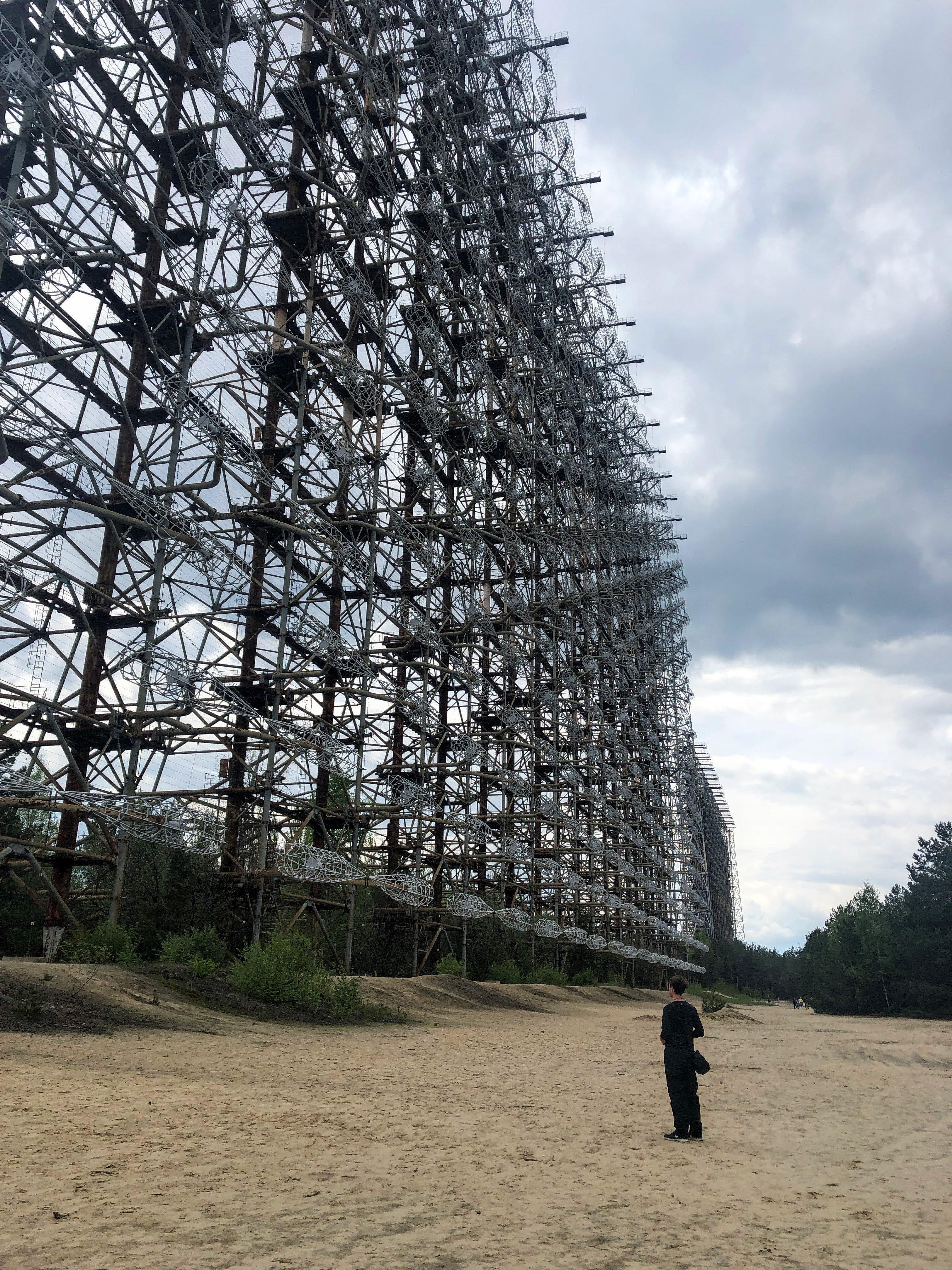 abandoned Soviet radar duga 1