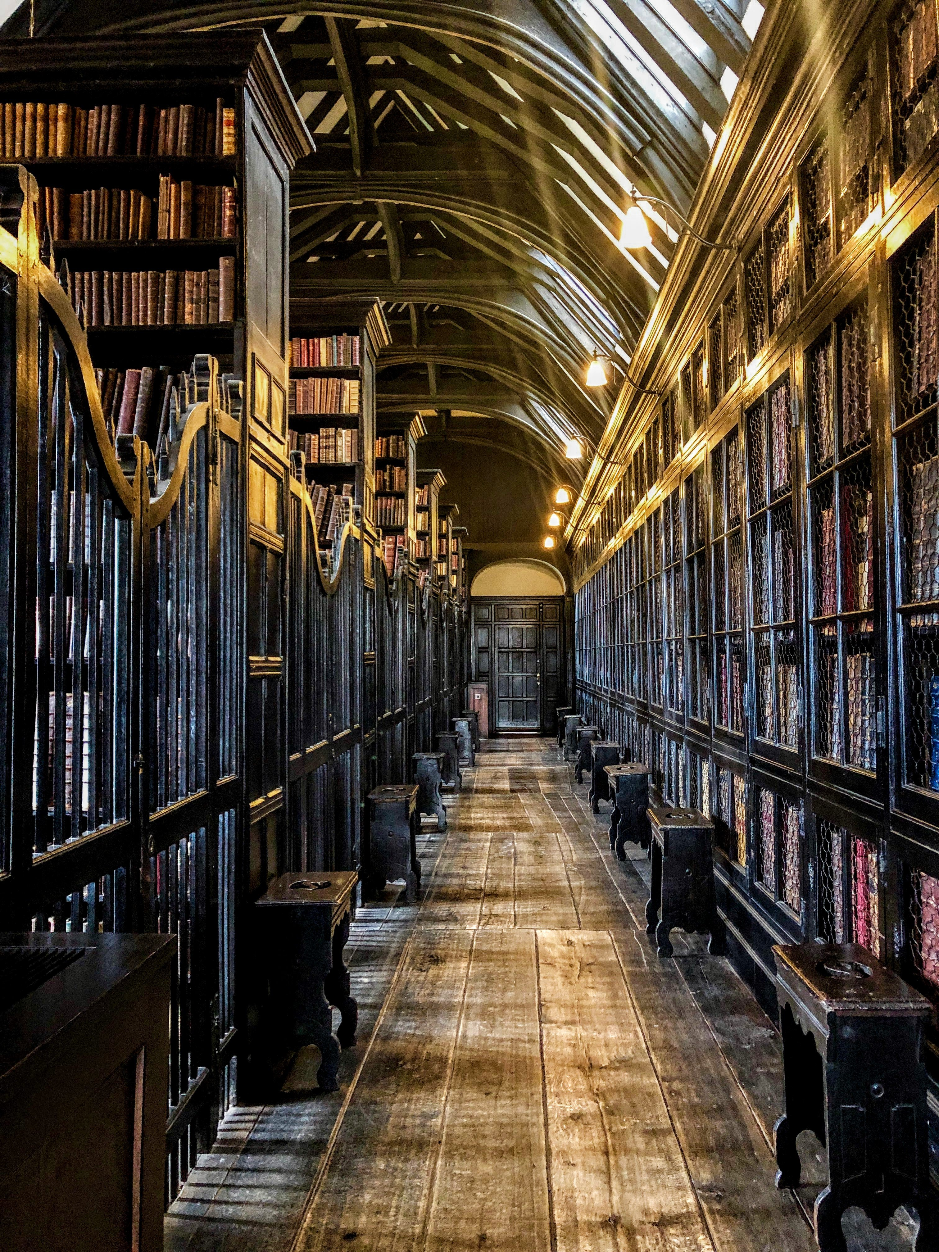Chetham's Library in Manchester, UK