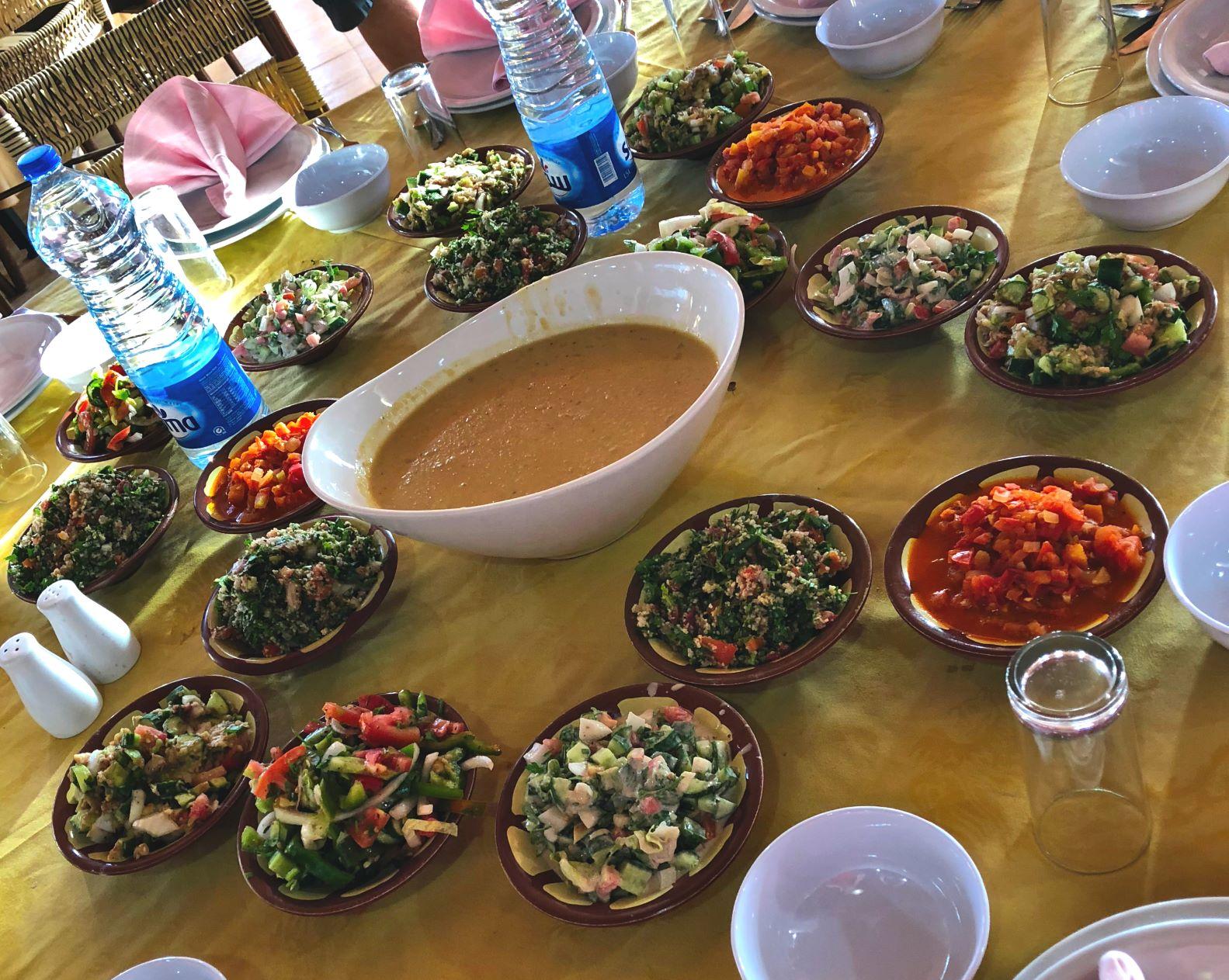 Jordanian meal