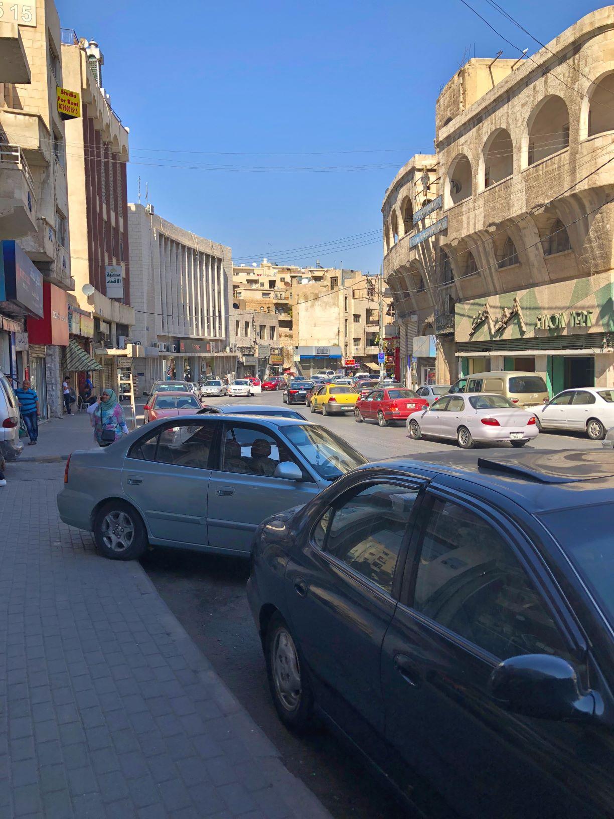 Parking in Amman