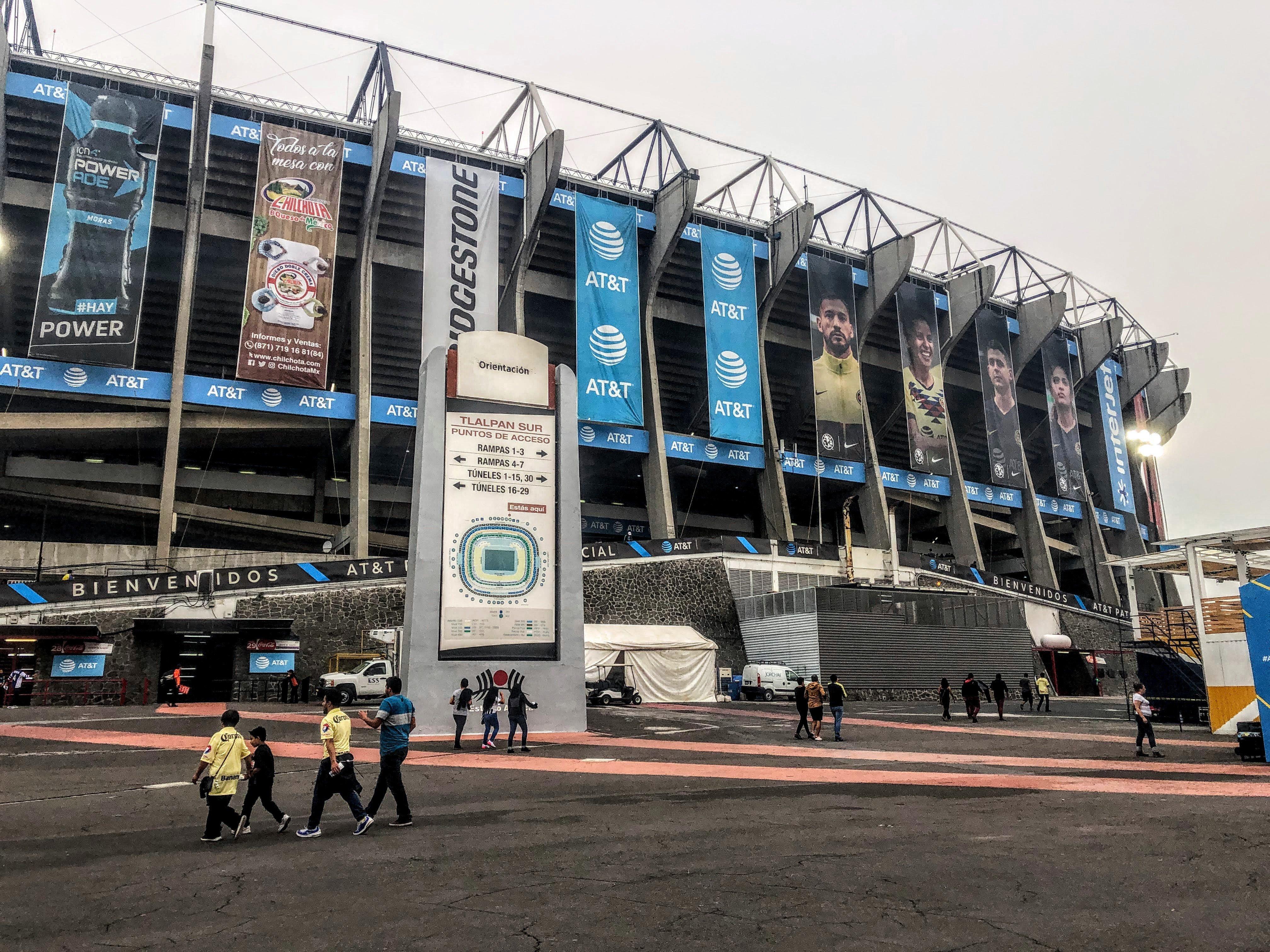 exterior of Estadio Azteca