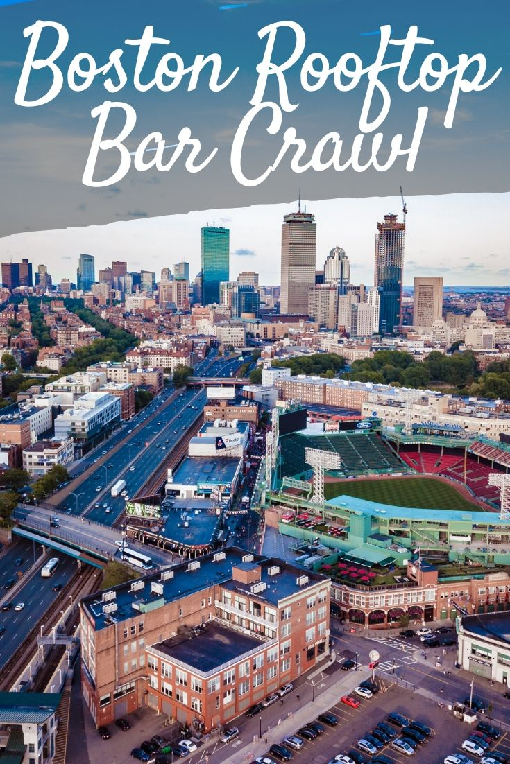 Boston Rooftop Bar Crawl Pinterest pin