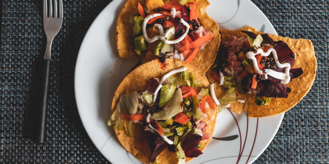 Make This Super Easy Tostada Recipe With Only a Microwave