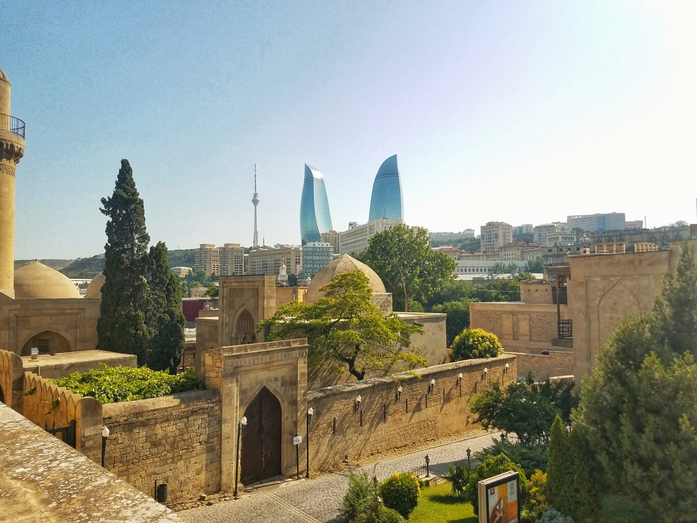 skyscrapers in Azerbaijan