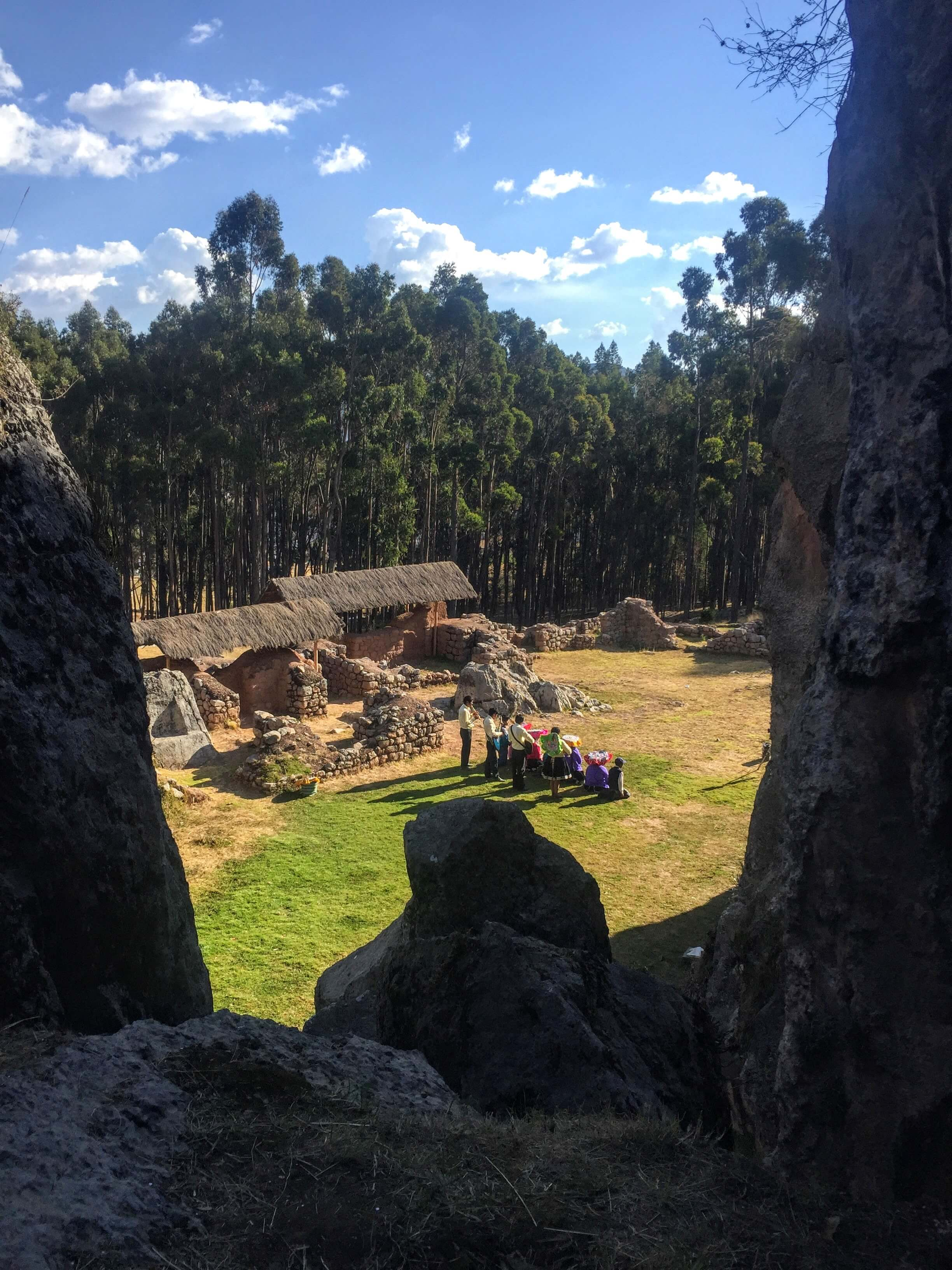secret ruins near Sacsayhuaman