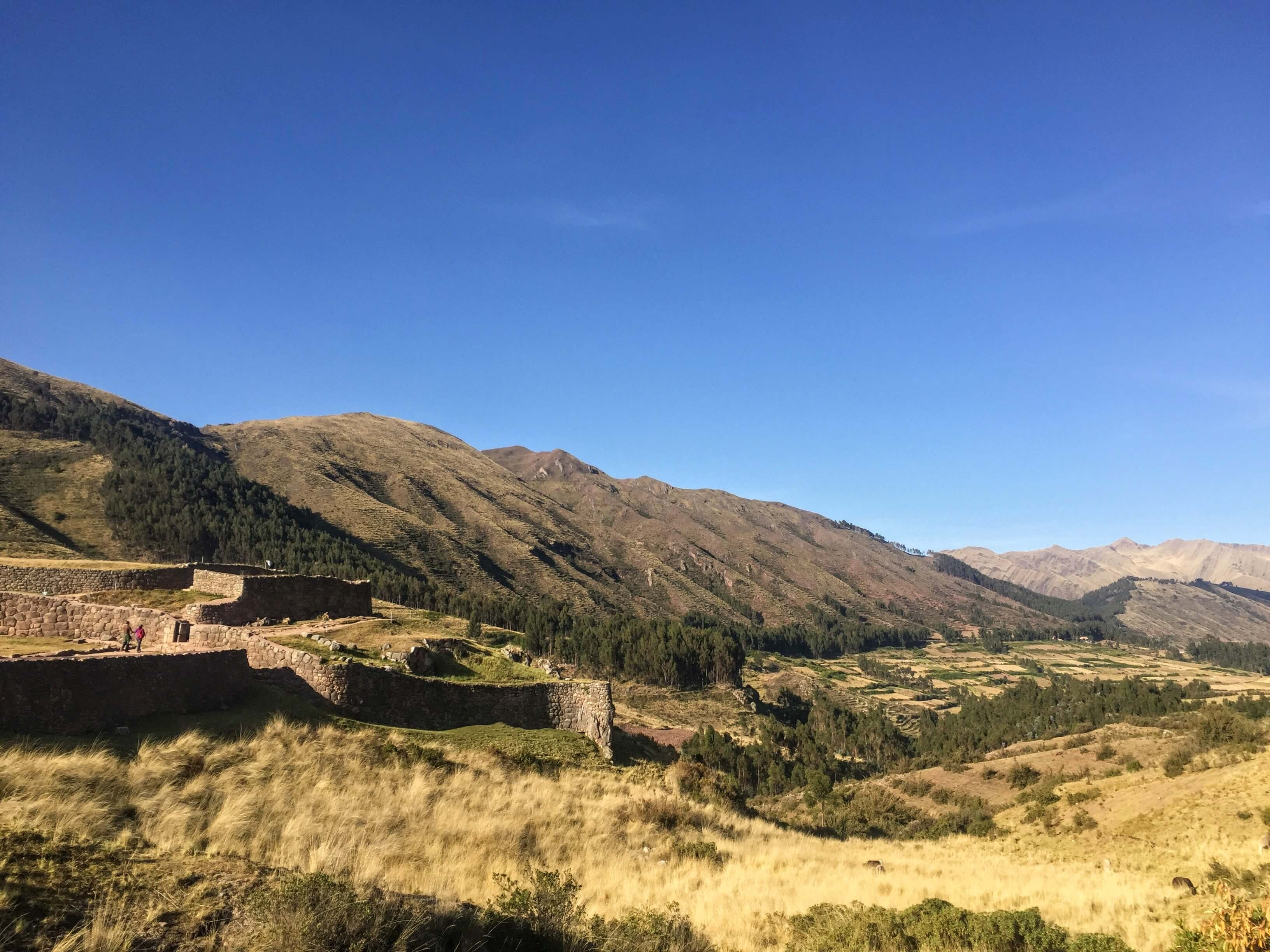 Puka Pukara ruins in Cusco