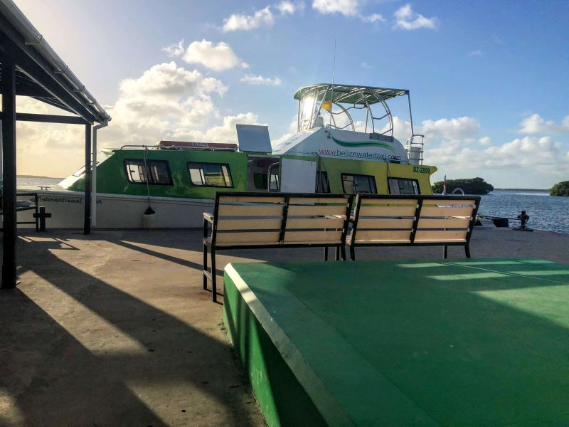 ferry from Chetumal to Caye Caulker