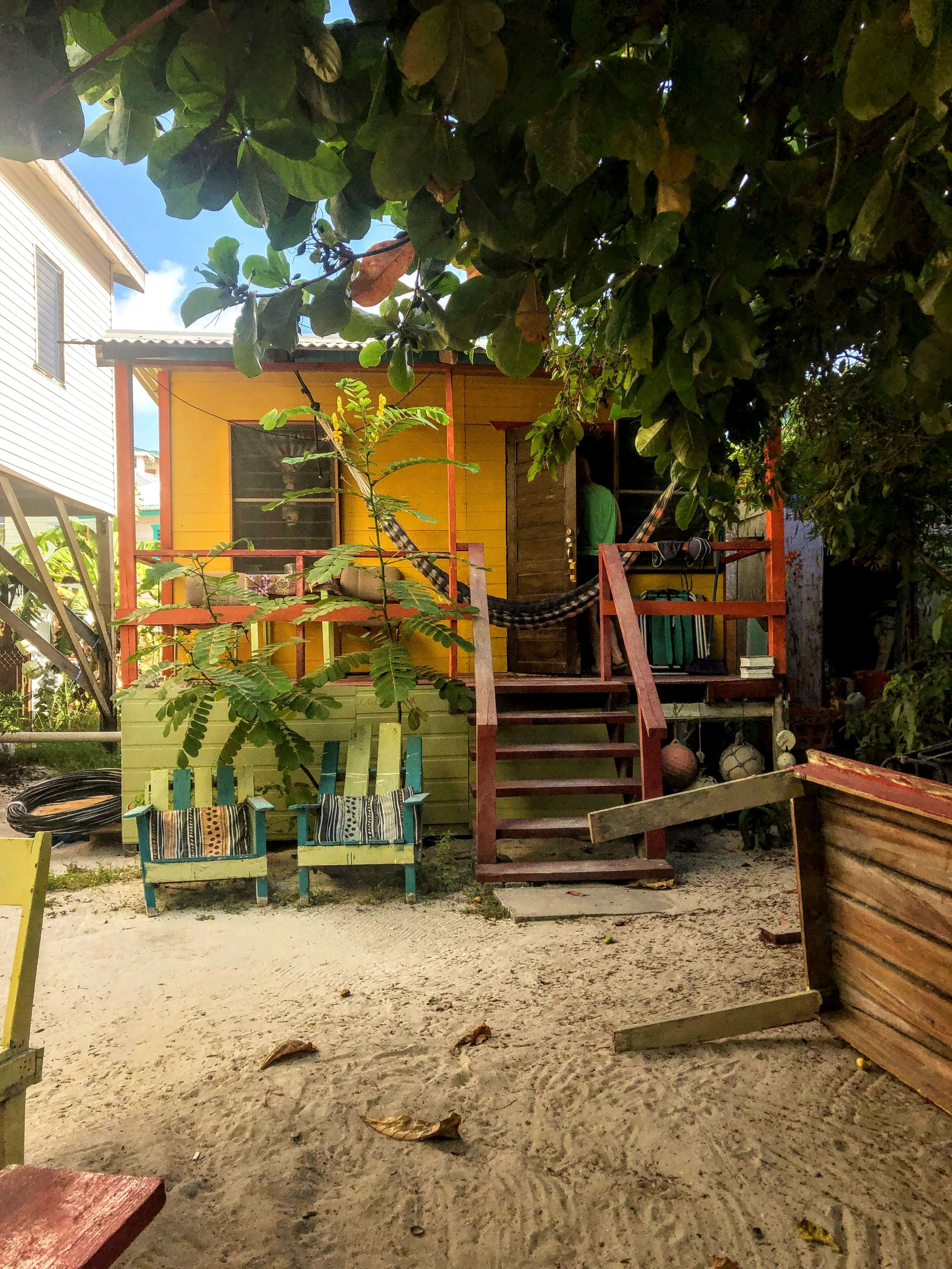 tiny house on Caye Caulker