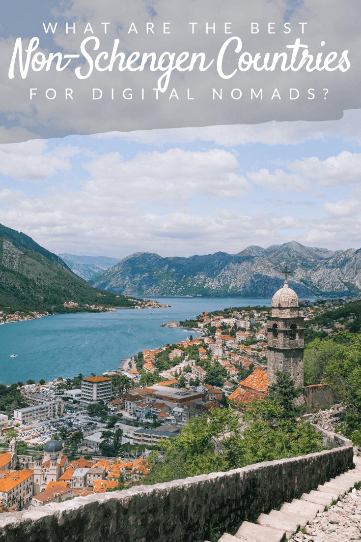 Best Non-Schengen Countries for Digital Nomads Pinterest pin